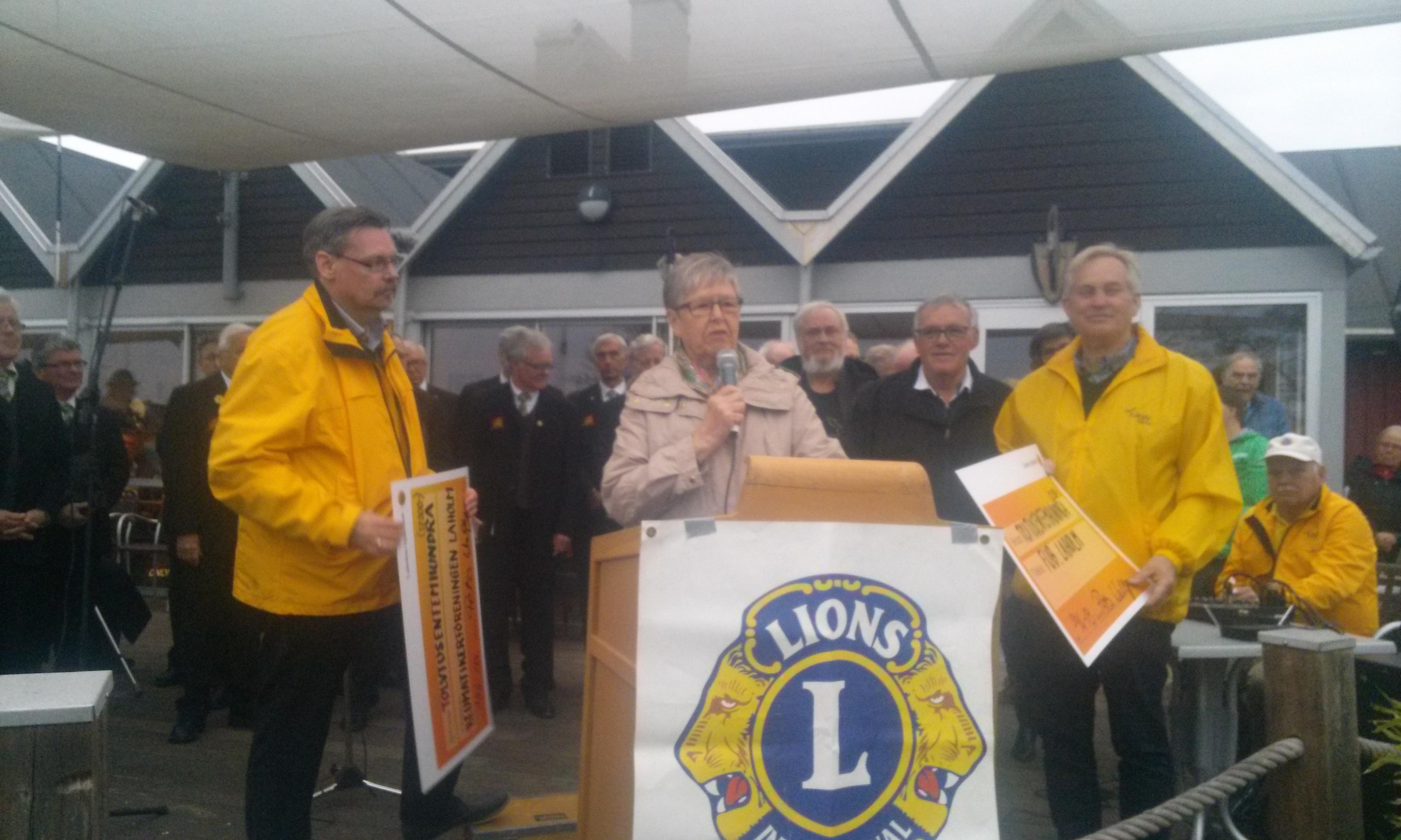 FUB Laholm Valborgsmässoafton Lions