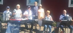 FUB Laholm Pingst Gullbrannagården sång musik