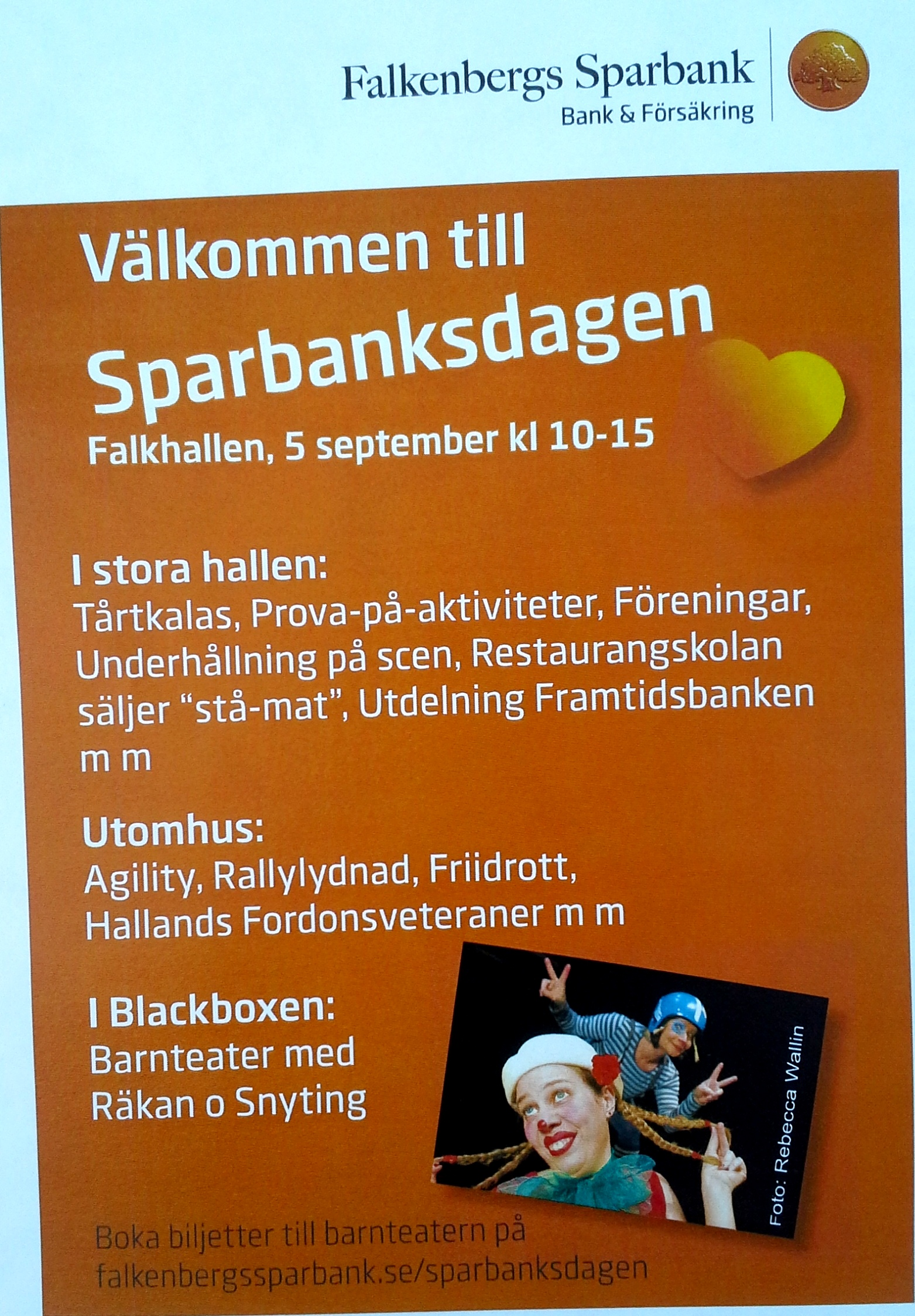 Sparbanksdagen 5 september