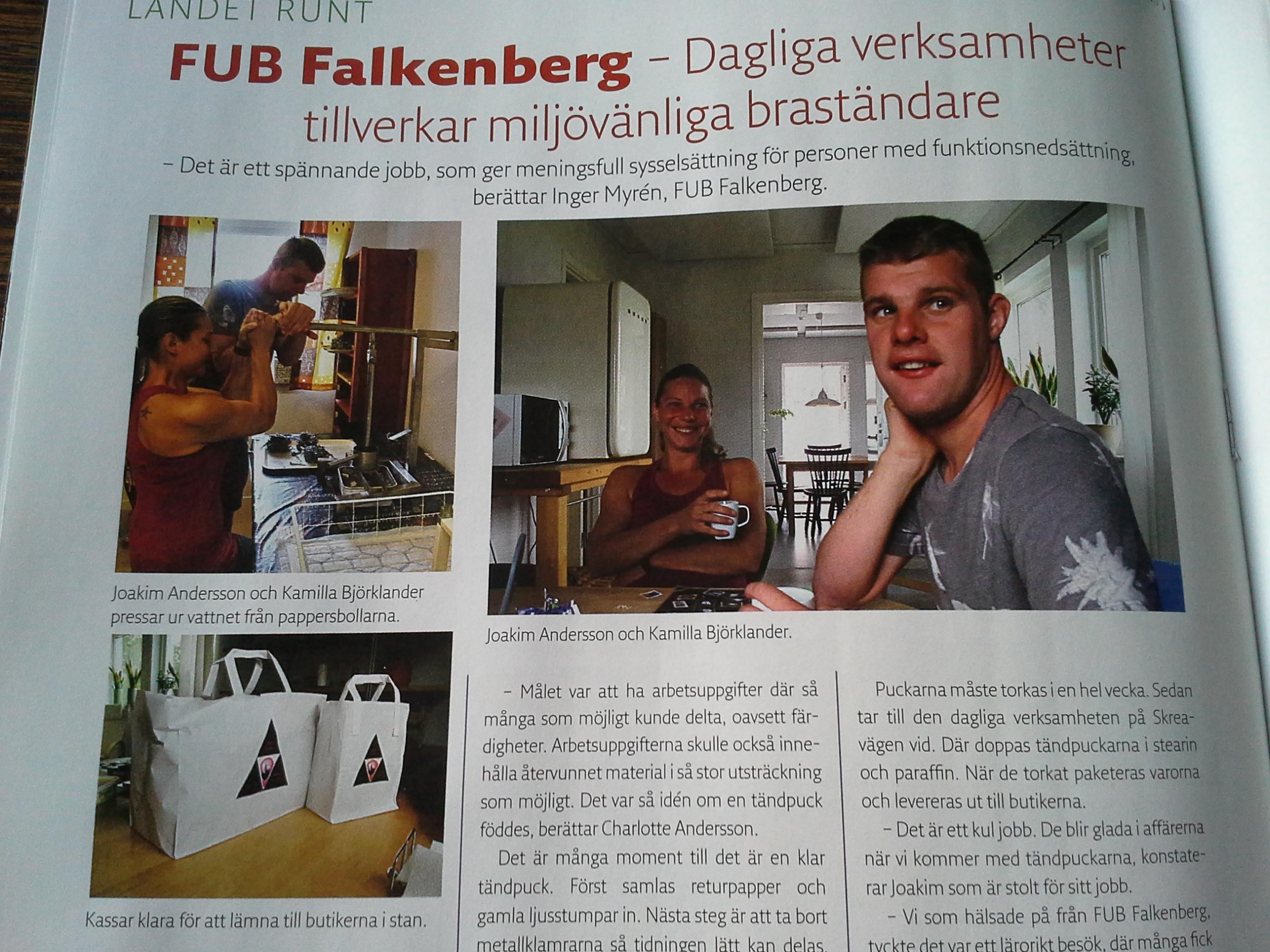 Bild från tidningen UNIK