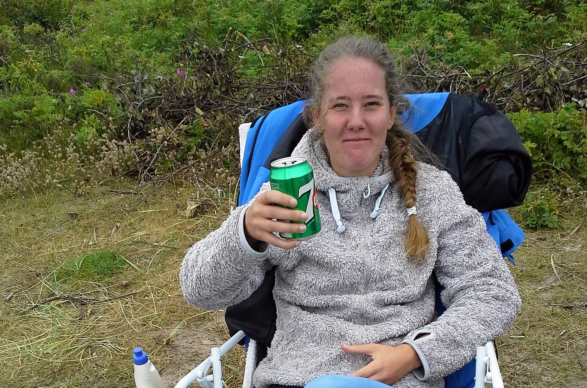 Sara dricker läsk
