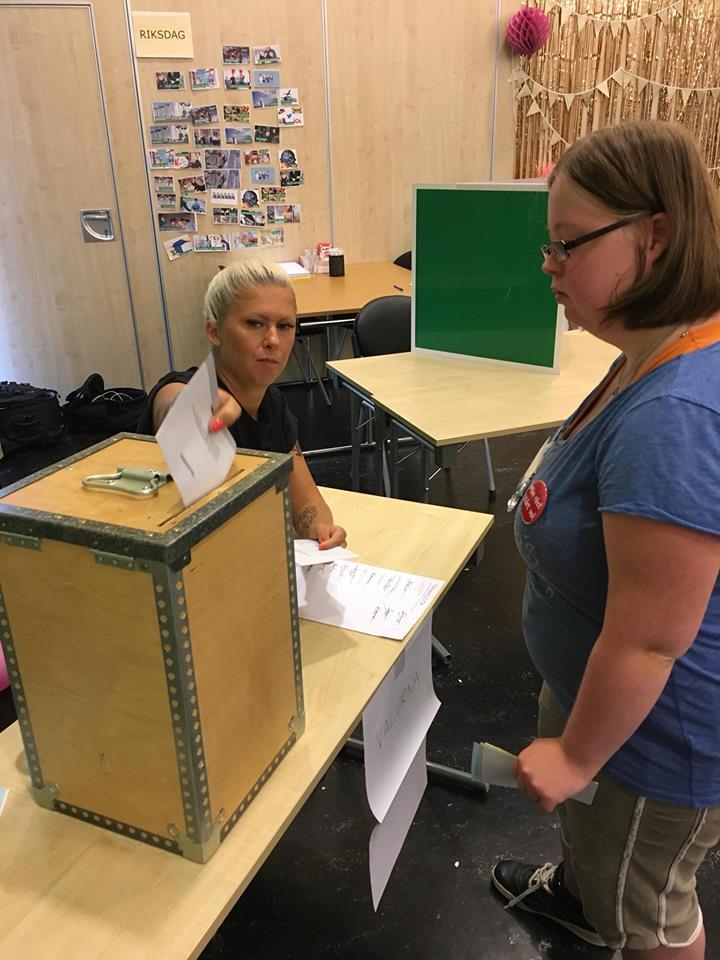 Klara röstar