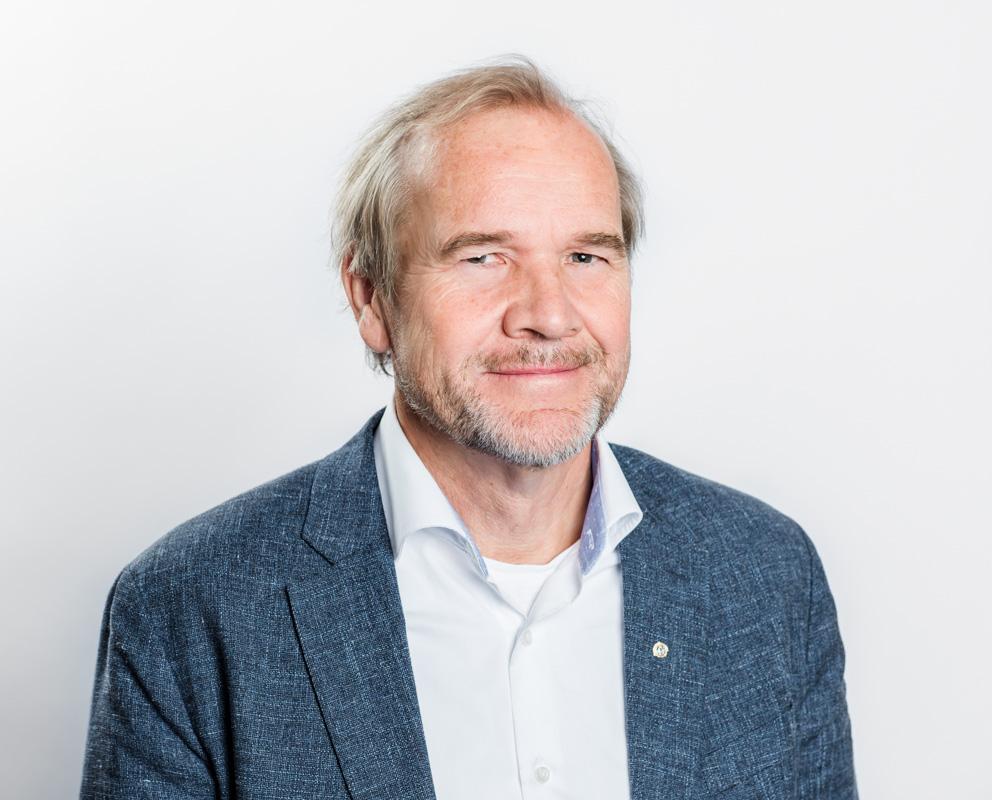 FUB:s förste vice ordförande Anders Lago 2018 Fotograf: Linnea Bengtsson