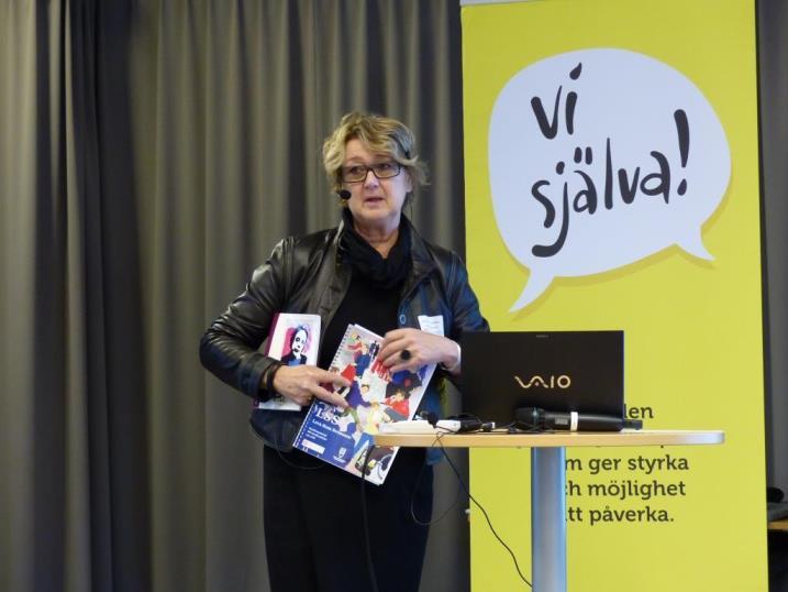Annelie Sylvén Troedsson berättar om LSS - Leva Som Svensson