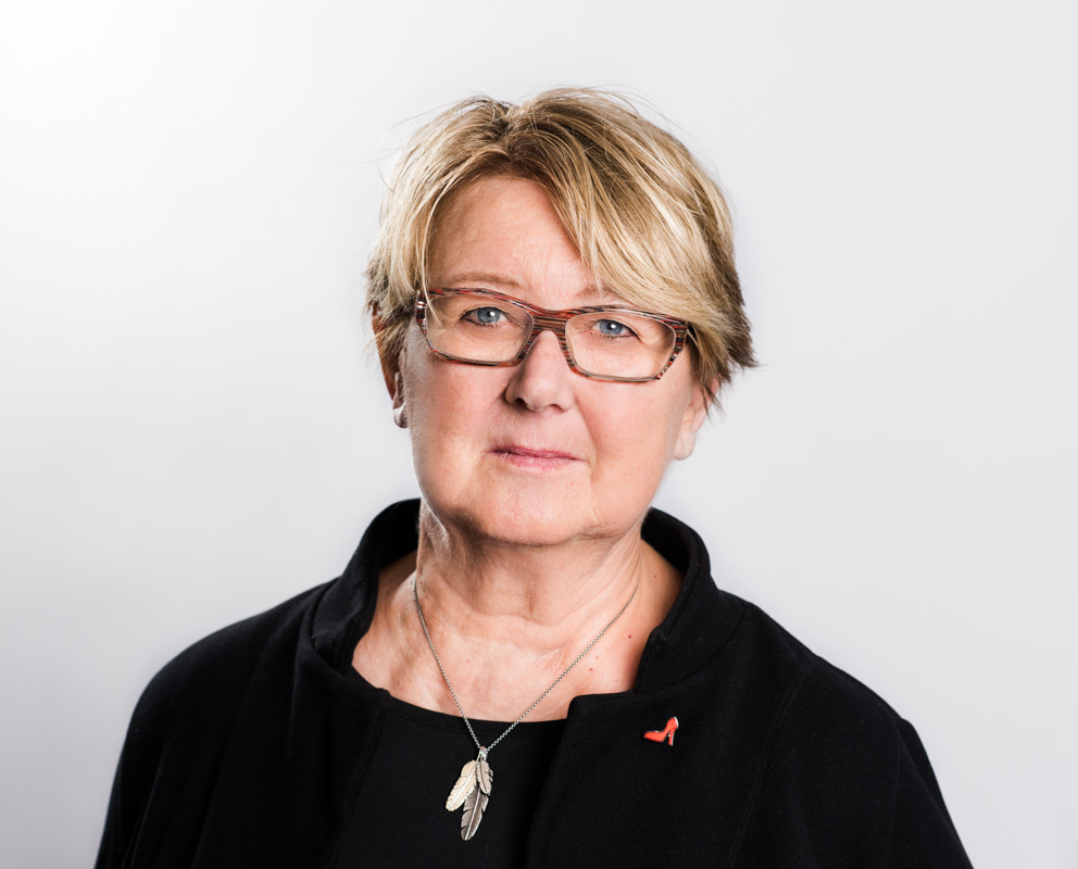 förbundsstyrelseledamot Annelie Sylvén Troedsson 2018 Fotograf: Linnea Bengtsson