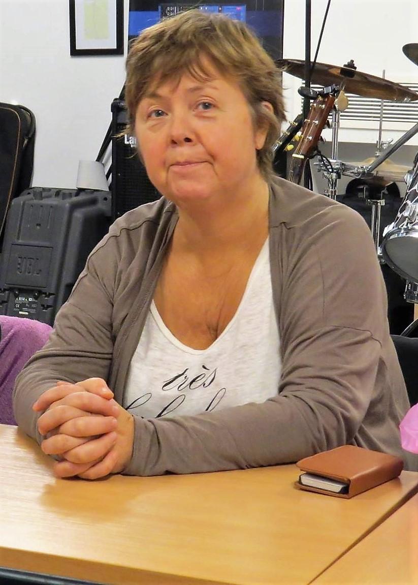 Agneta är ledare för gruppen