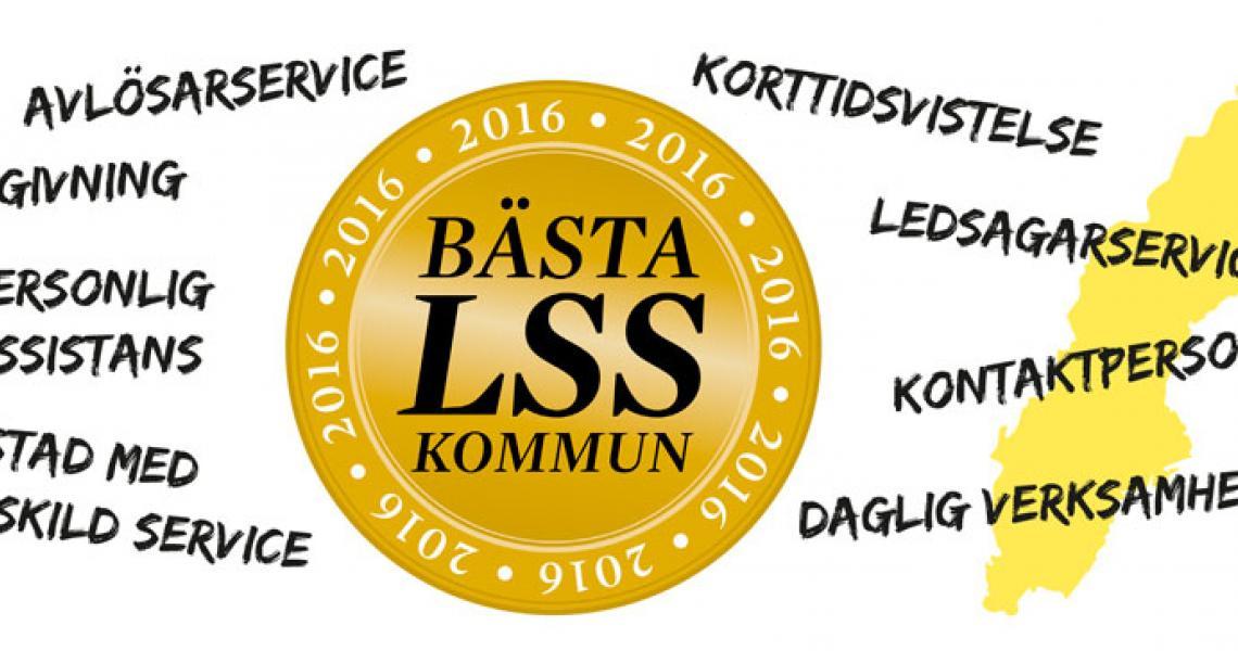 Illustration om Bästa LSS-kommun