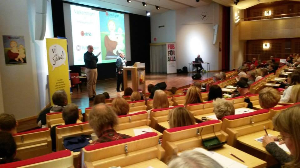 Conny Bergqvist inledningstalade på Intradagarna 2015