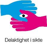 Logotyp för projektet Delaktighet i sikte