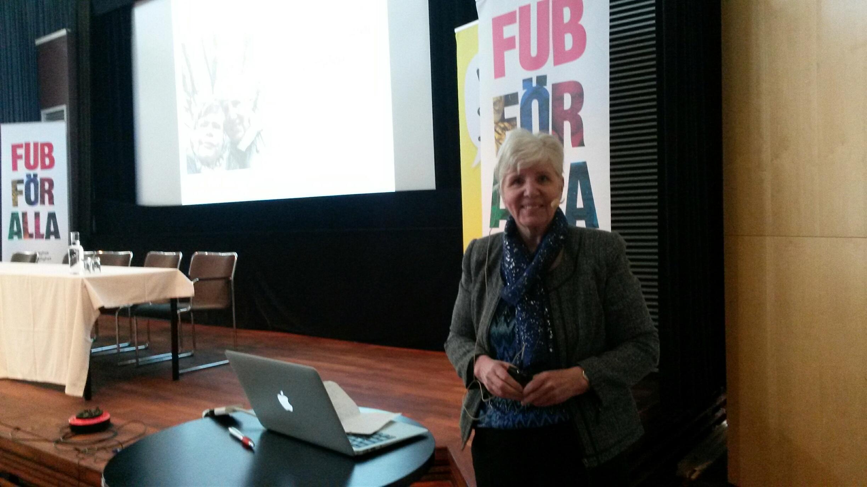 Elaine Johansson avslutar Forum FUB 2016