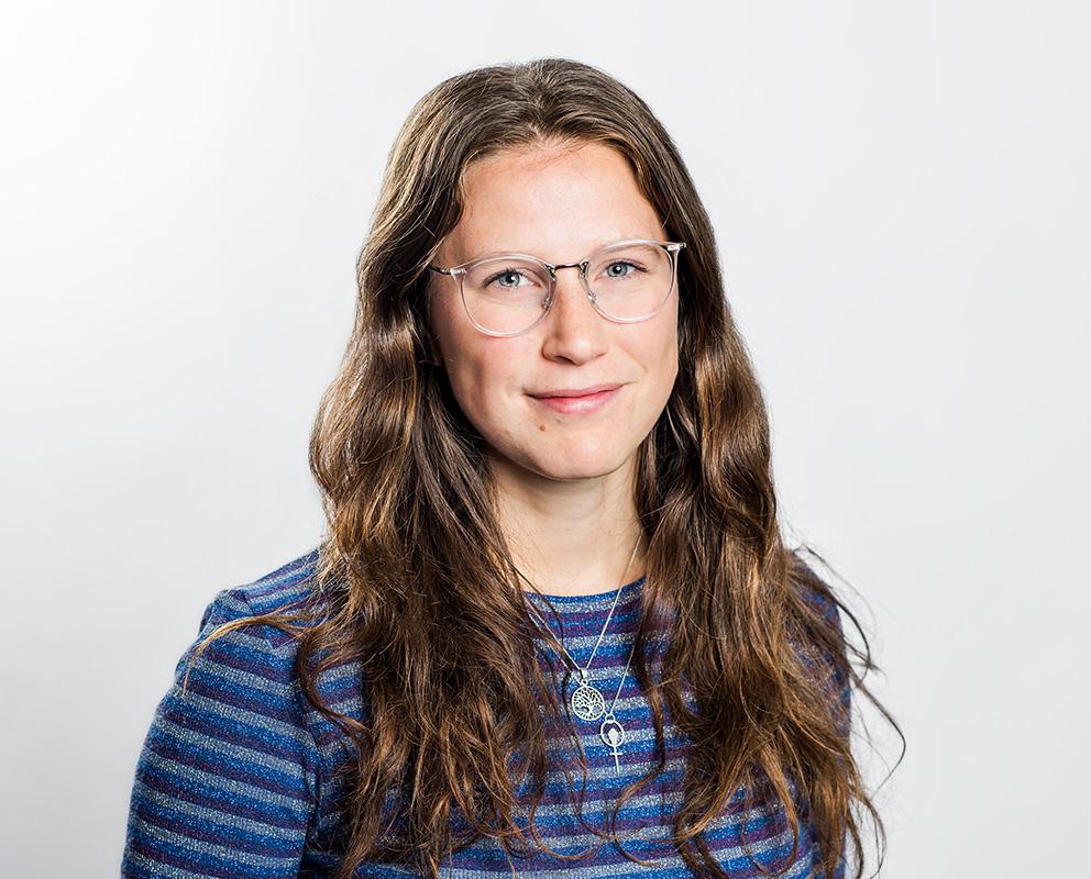 Elin Bonnier projektledare Volymen på Max! Fotograf: Linnea Bengtsson