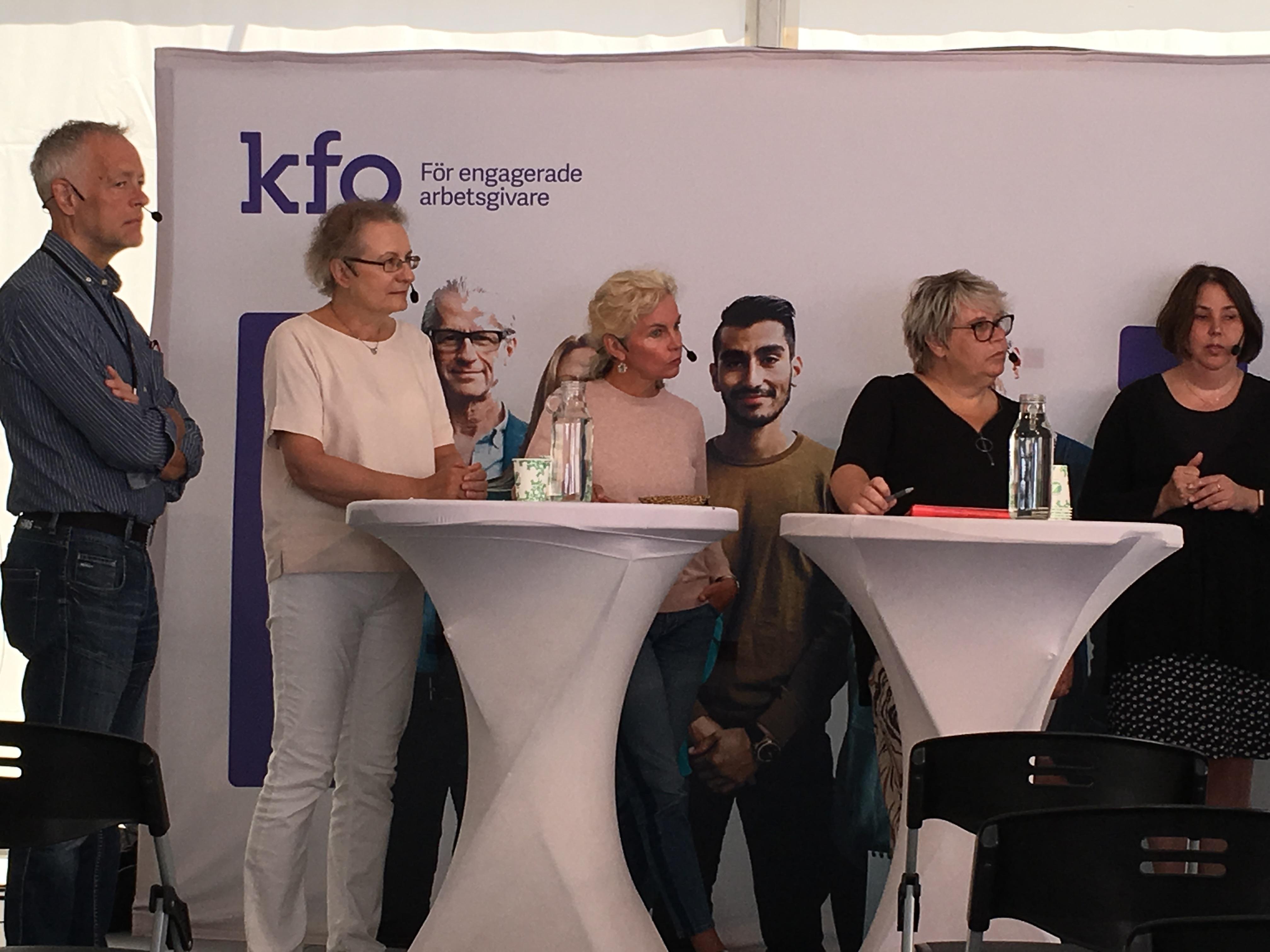 Eva Borgström är med i panelsamtal.