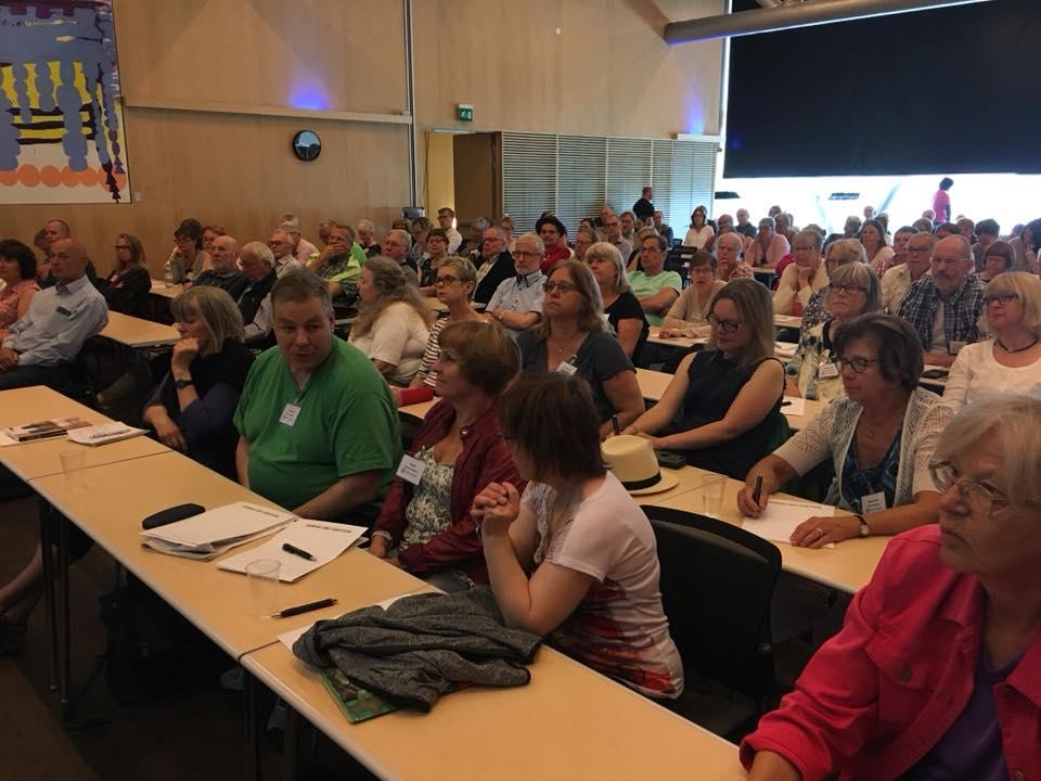 Forum FUB om LSS 2018: Många deltagare lyssnar uppmärksamt