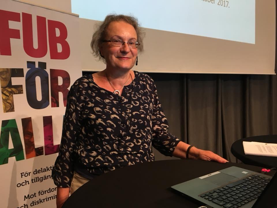 Forum FUB om LSS 2018: Eva Borgström