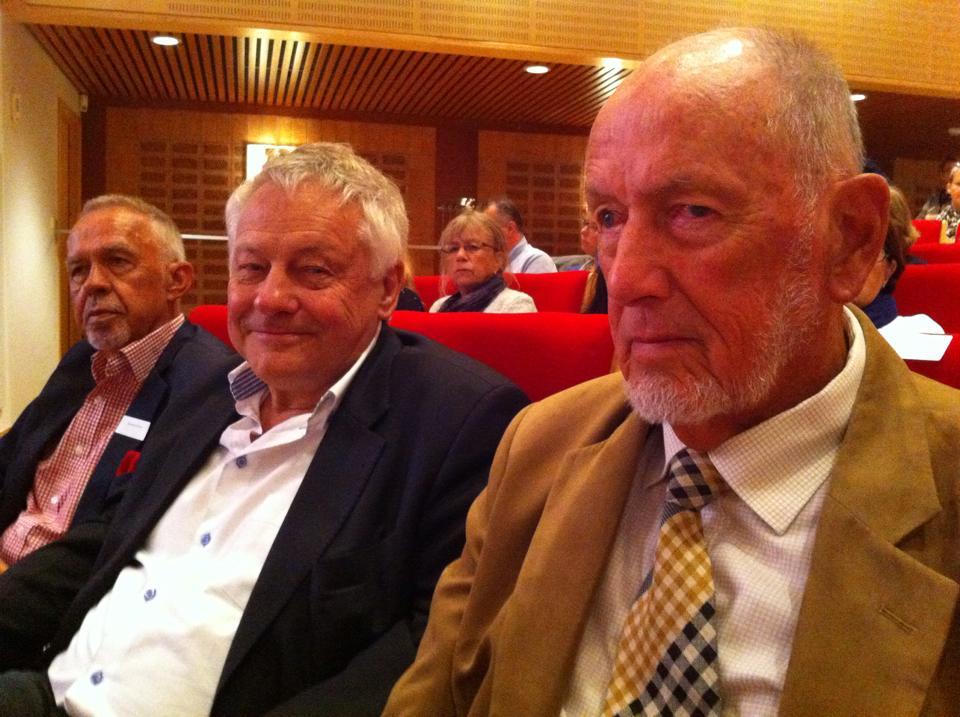 Gerhard Larsson, Bengt Westerberg och Bengt Lindqvist