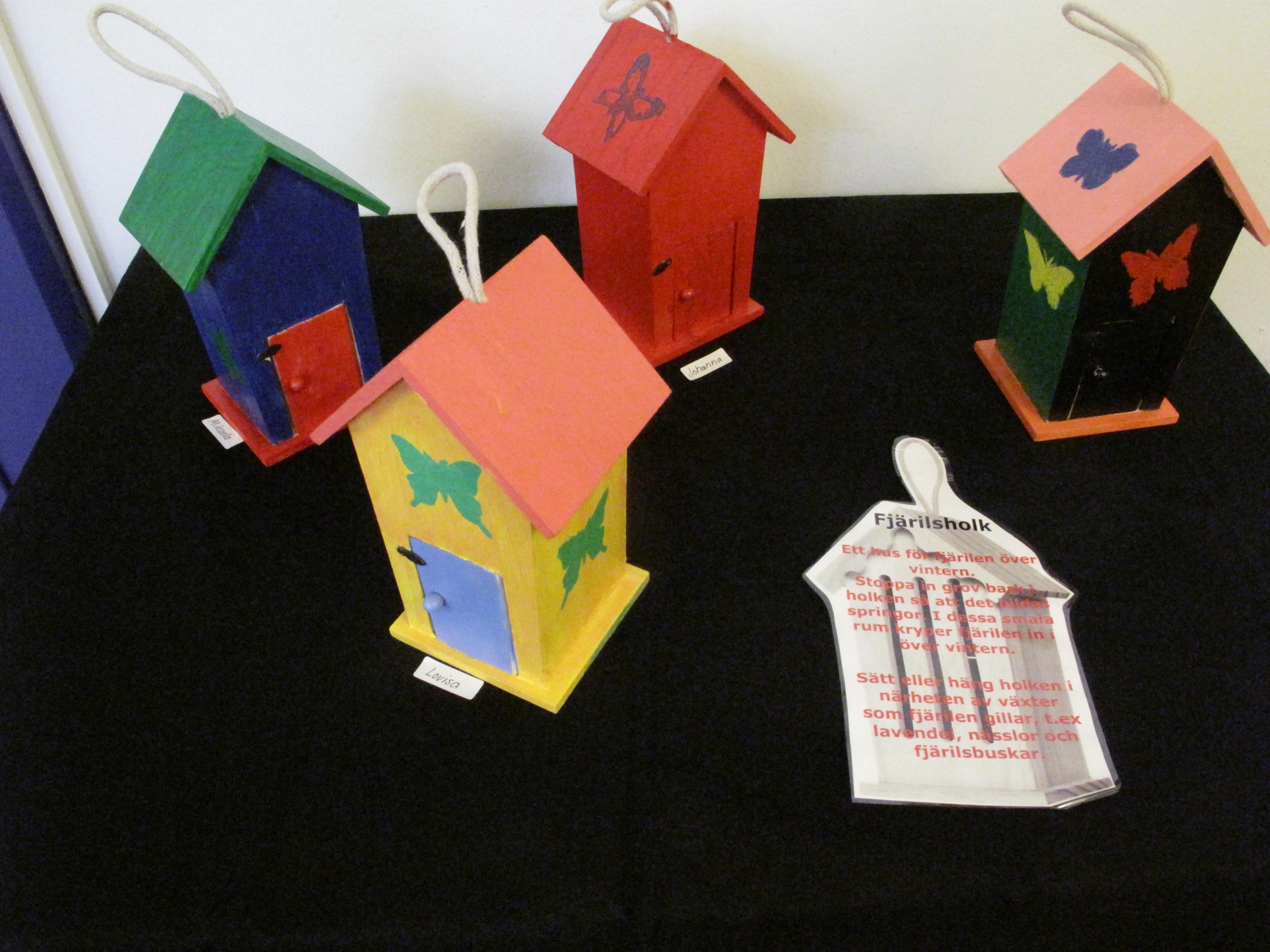 Utställning Falkenbergs särskola