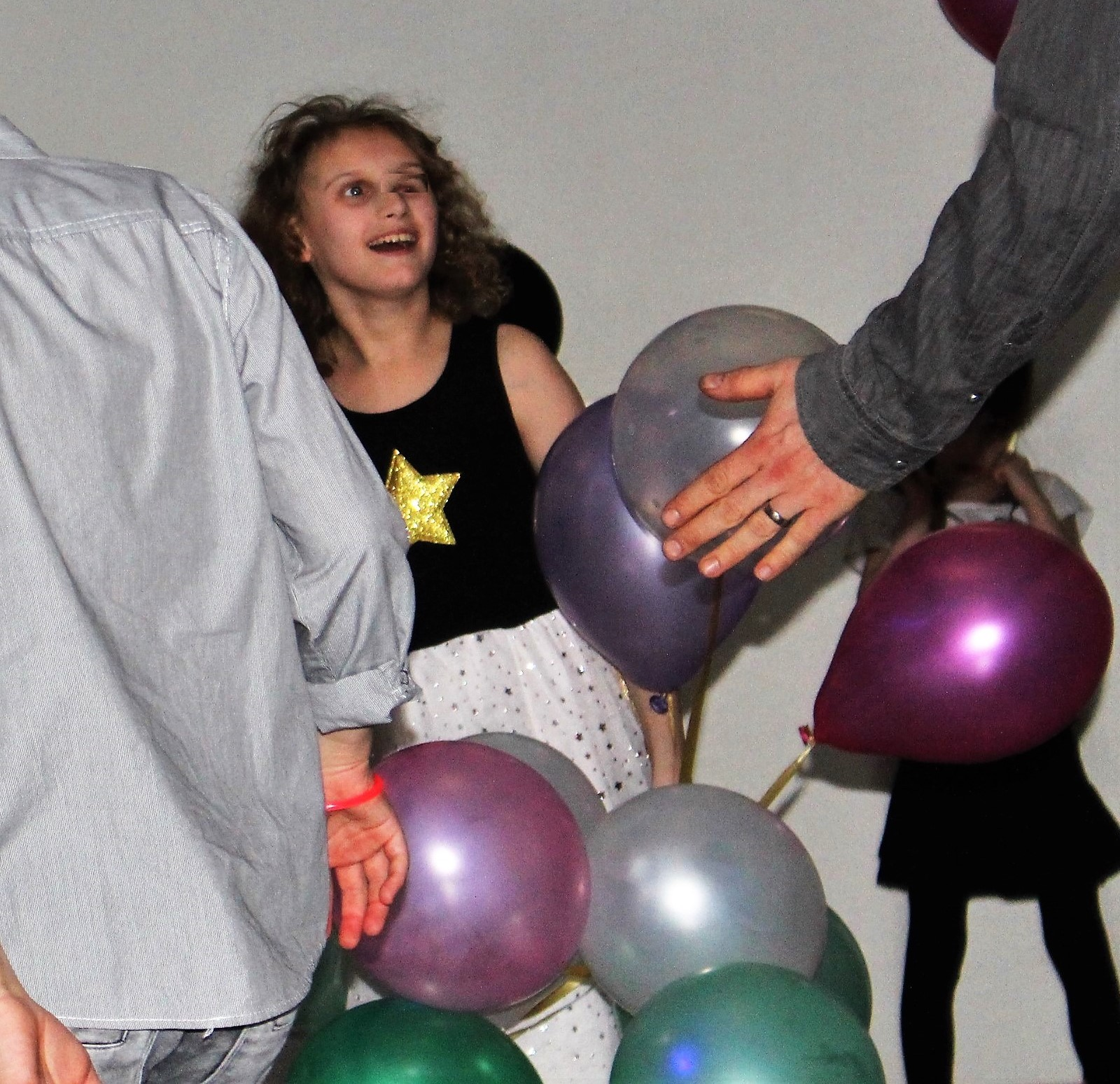 Ebba med ballonger