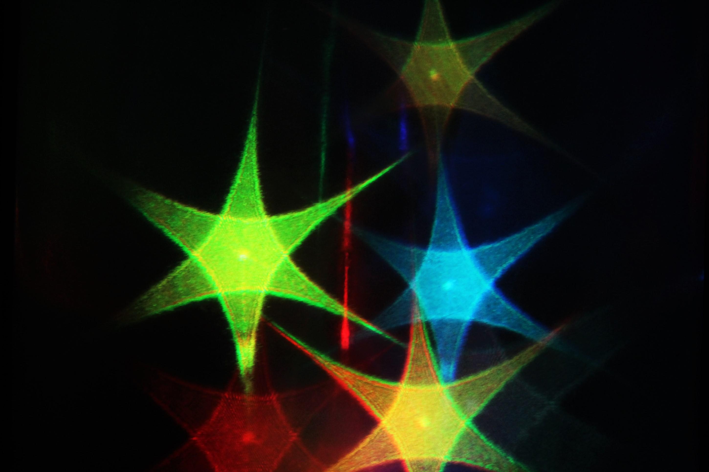 Färgglada stjärnor
