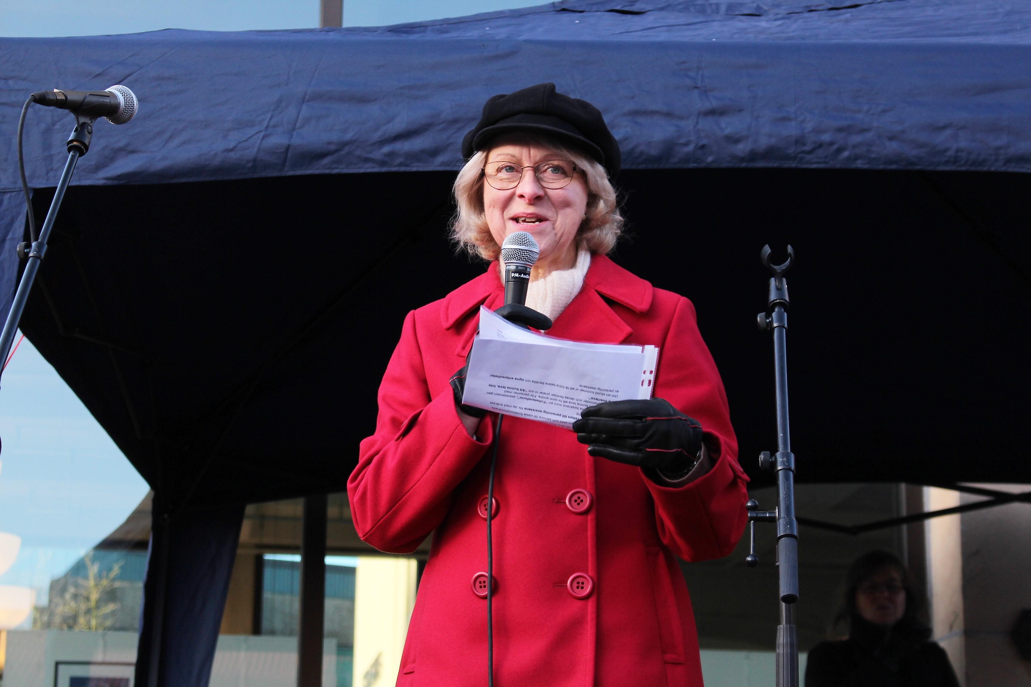 Ordförande Karin Borgström