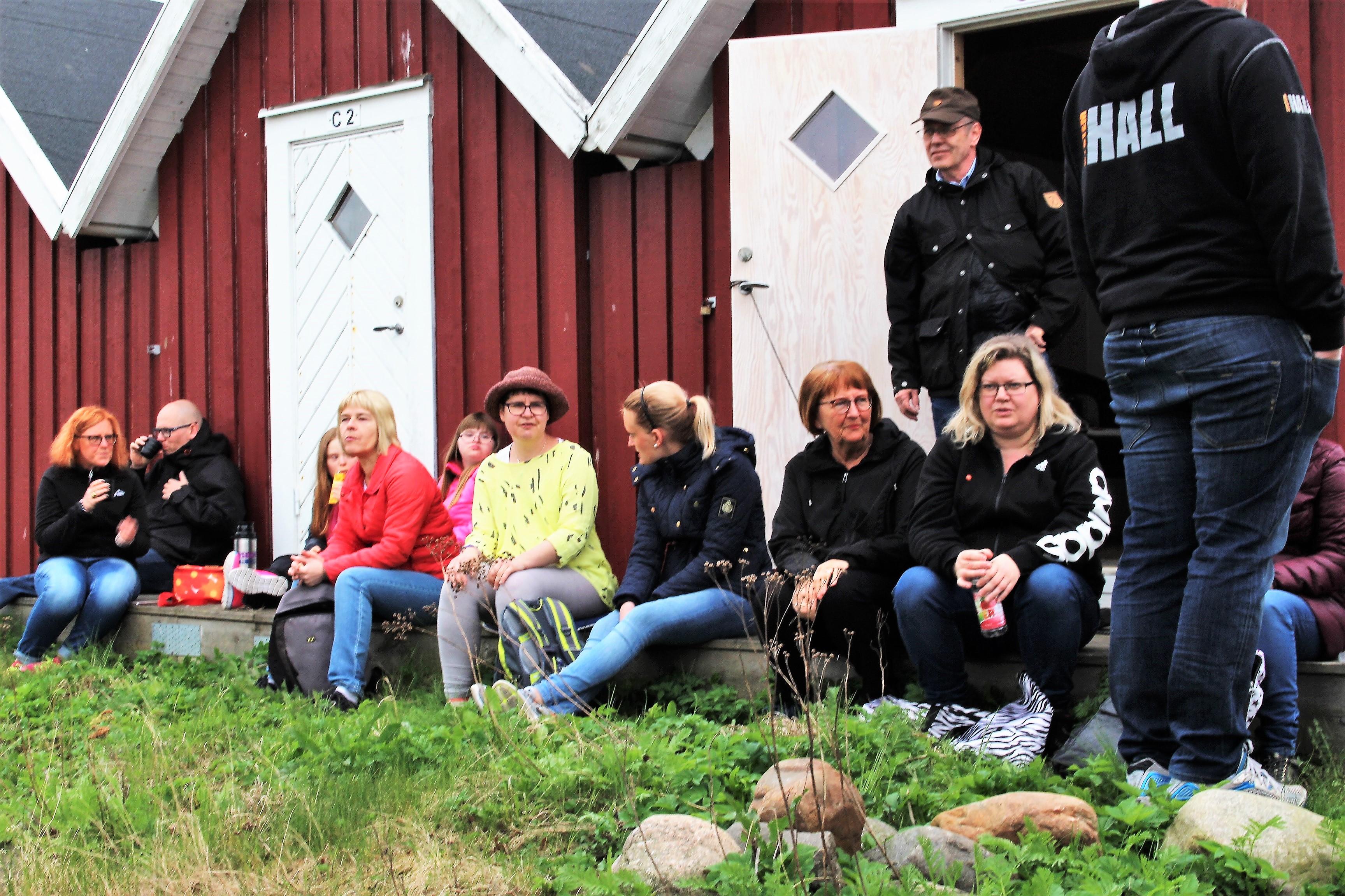 Besökare på aktiviteten