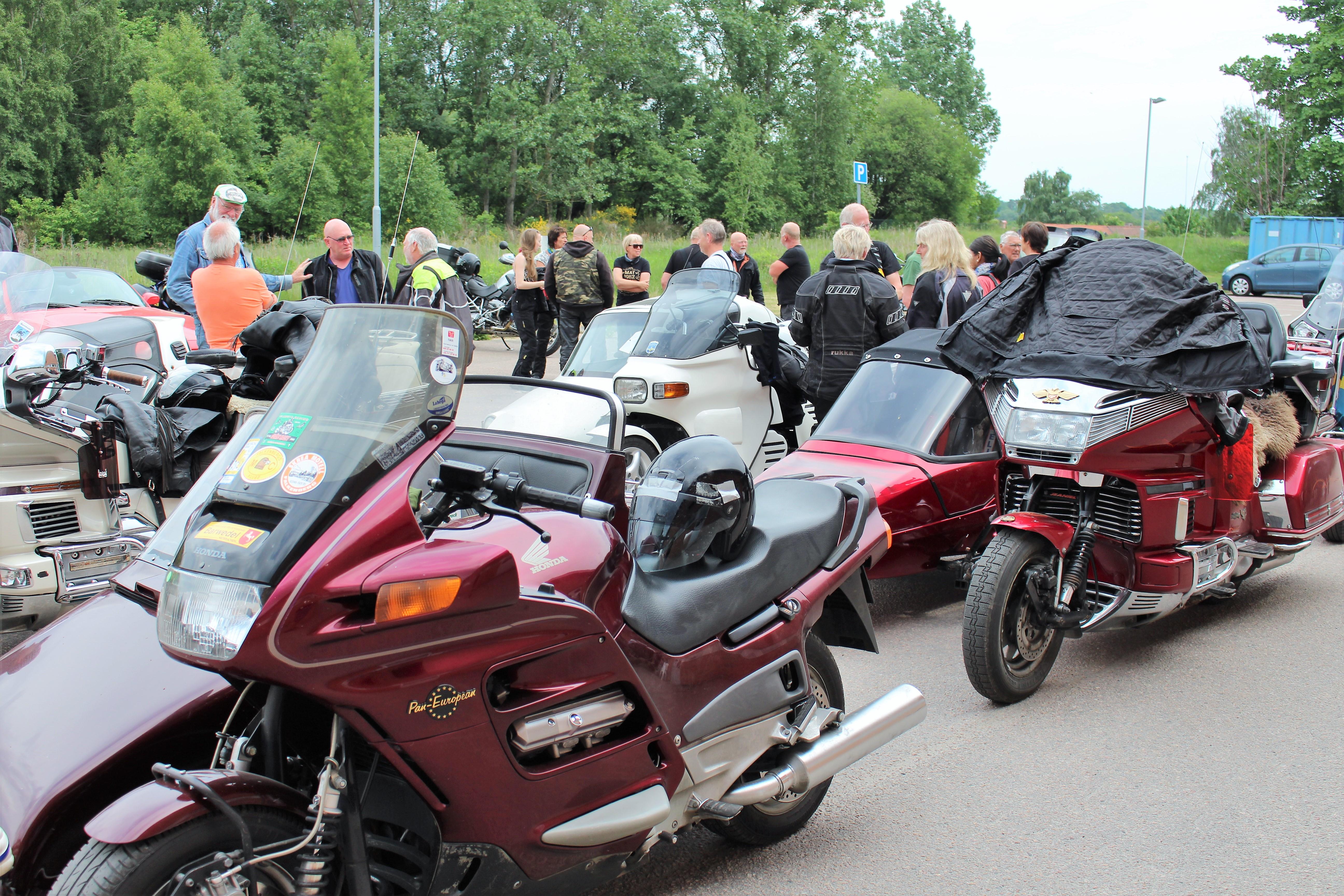 SVEA motorcykelklubba har samlats