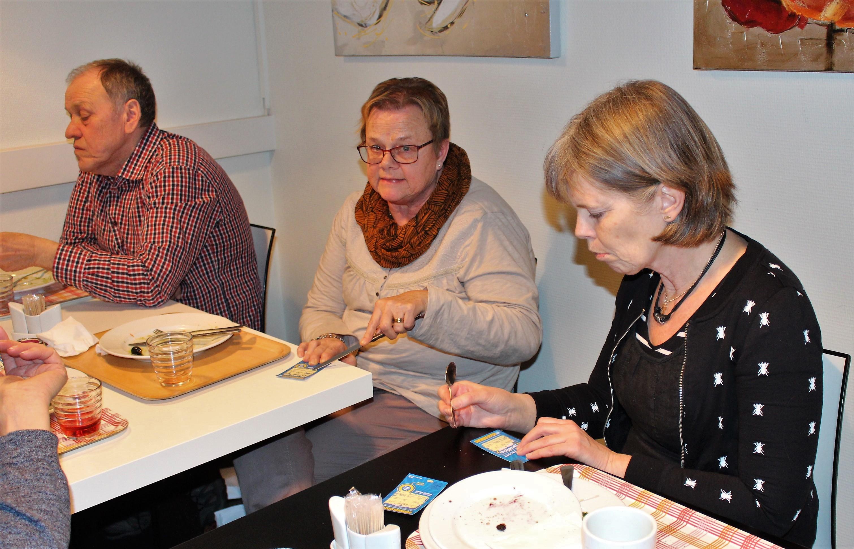 Göran, Ann-Margret och Gun-Nilla