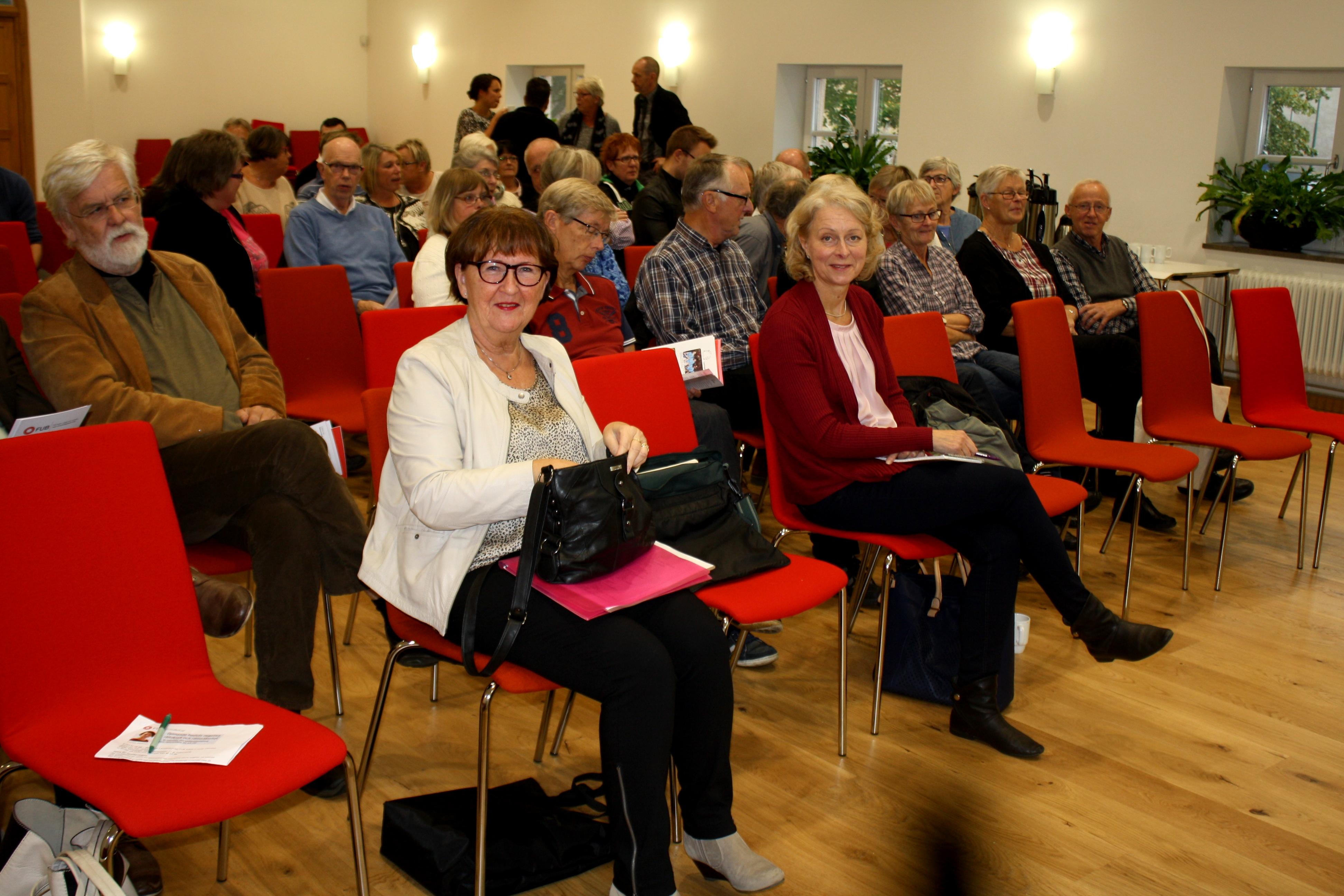 Publik vid föreläsningen