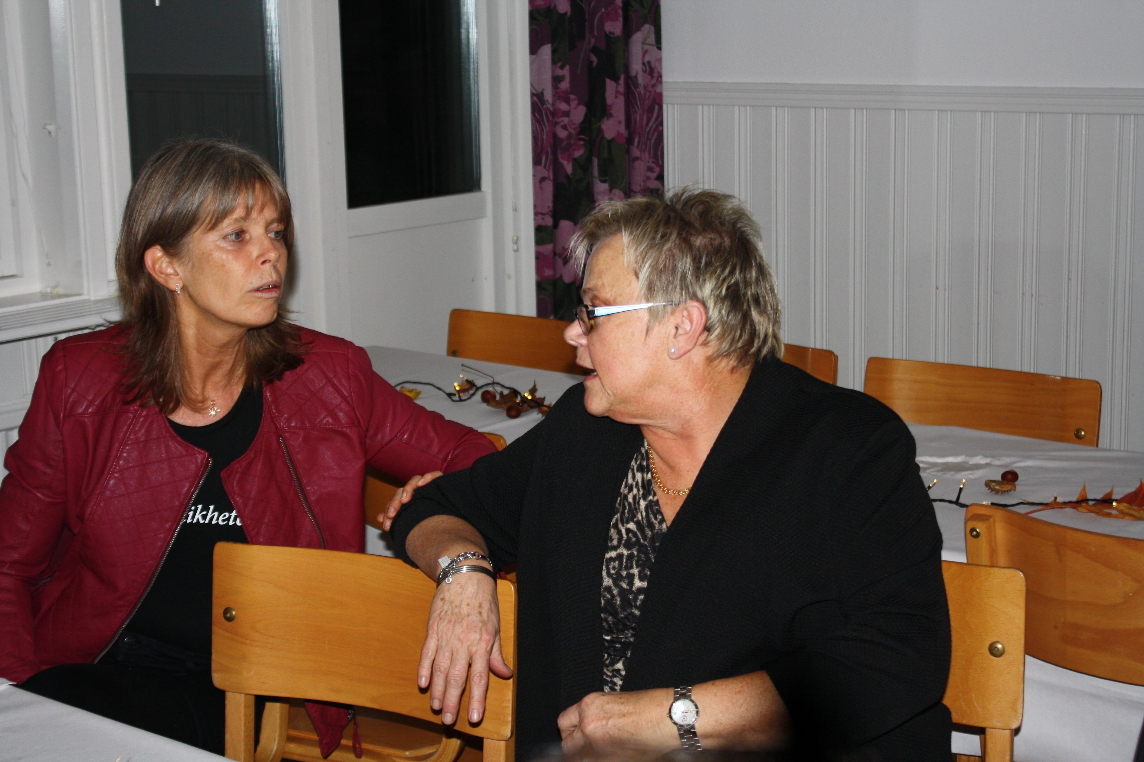 GunNilla och Ann-Margret två som jobbat med festen