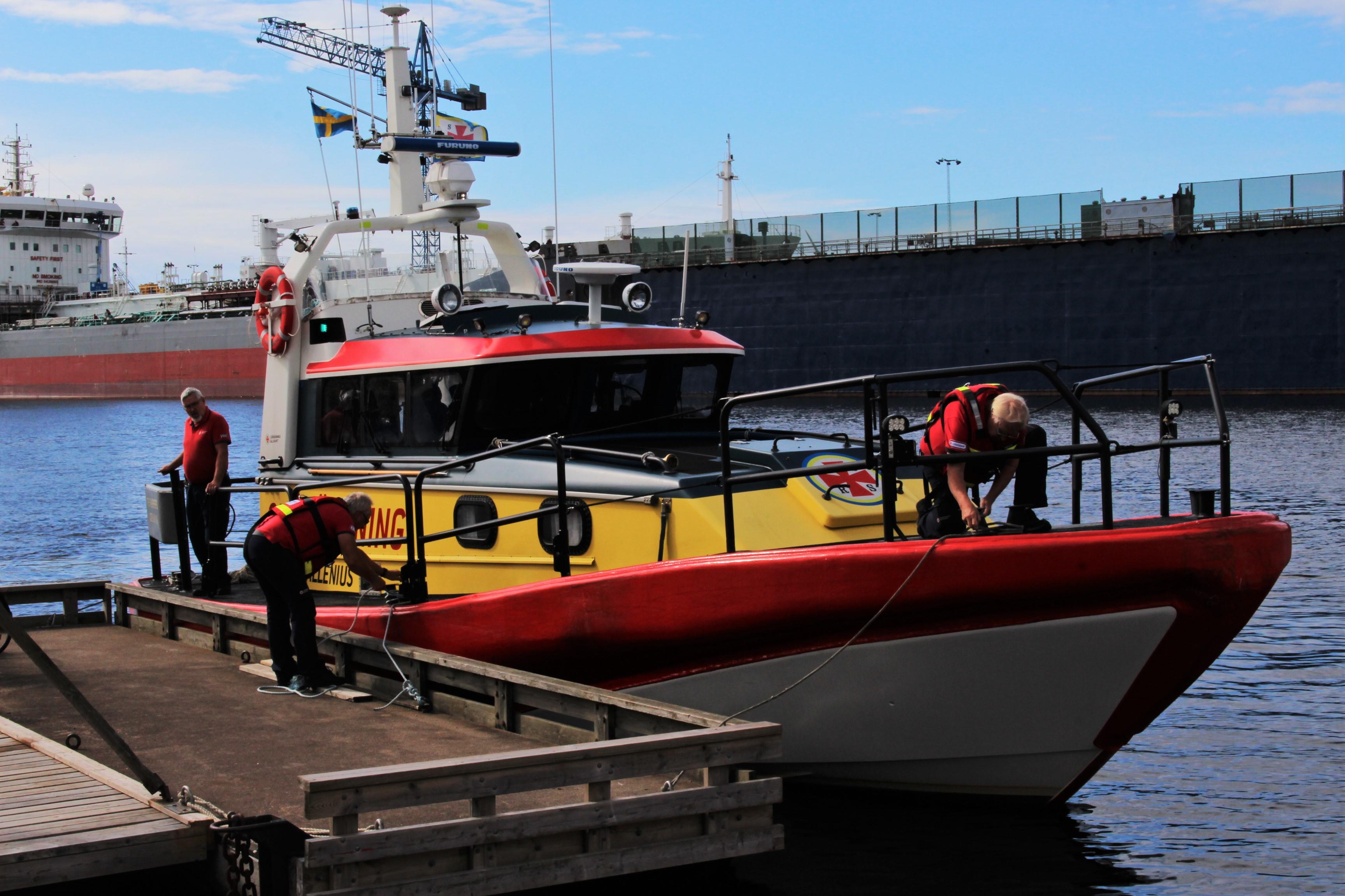 Falkenbergs Sjöräddningssällskaps båt