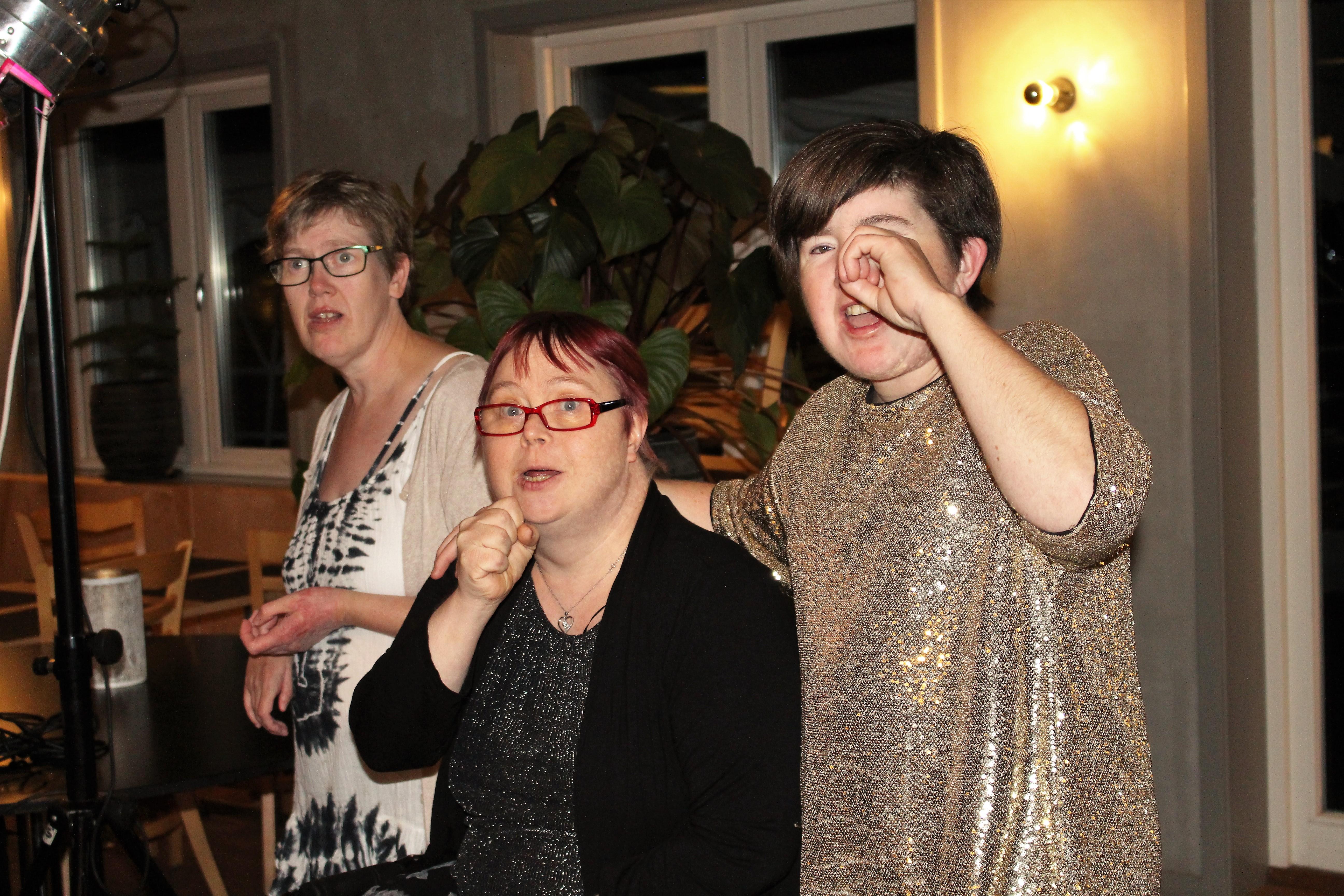 Gunilla, Ann-Kristin och Hanna