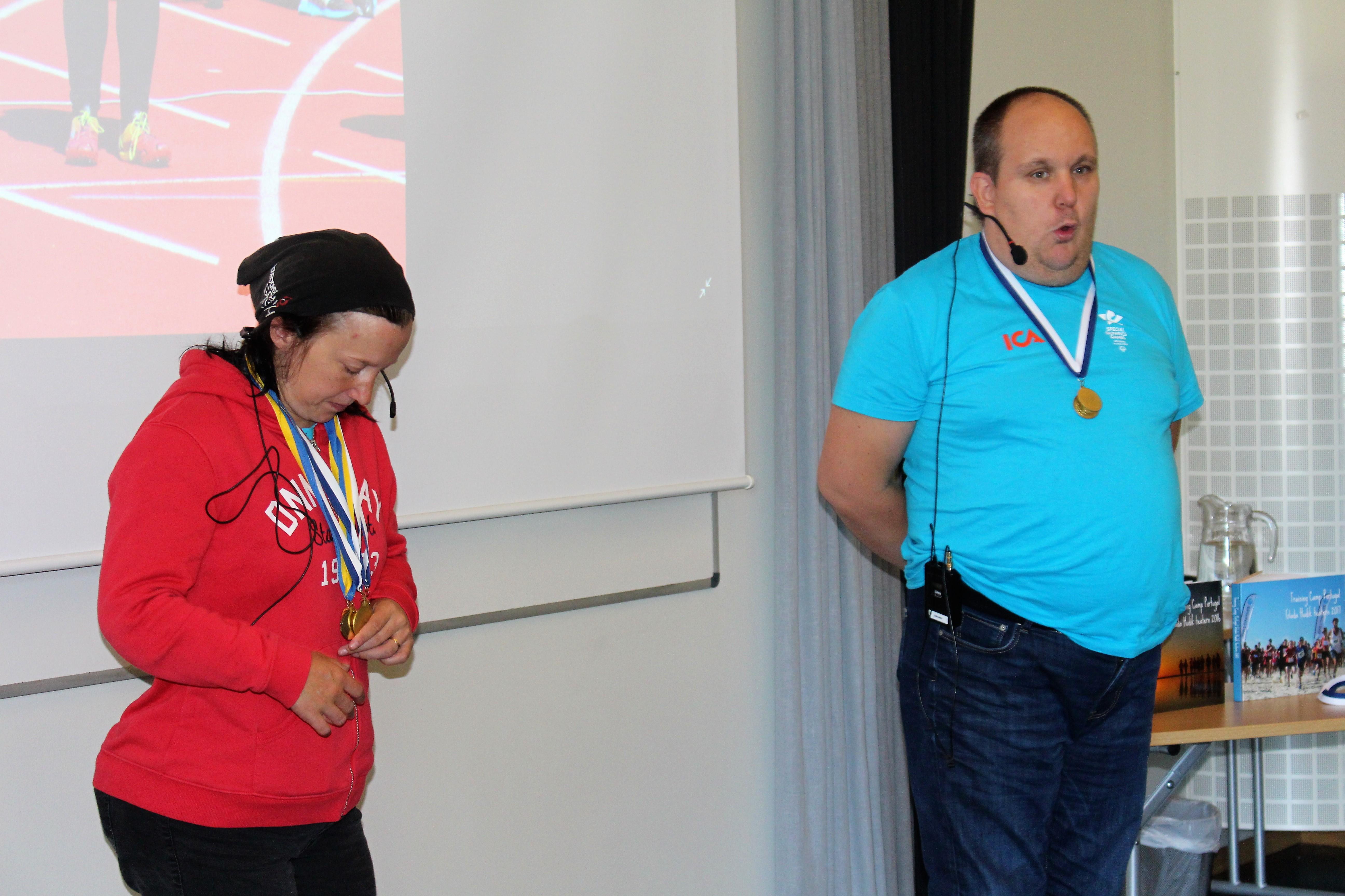 Emma och Patrik pratar om idrott