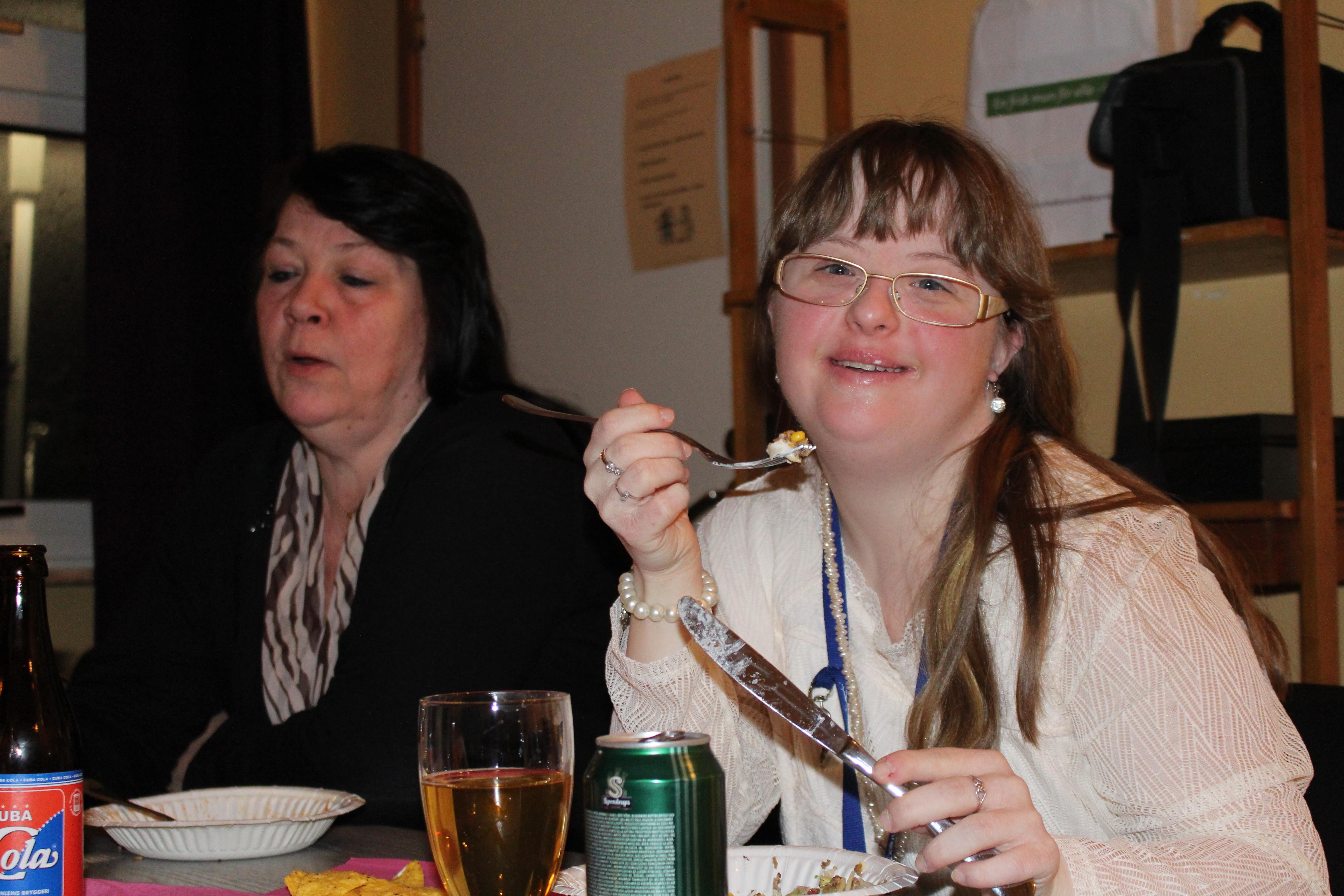 Monica och Emelie två trogna deltagare på våra aktiviteter