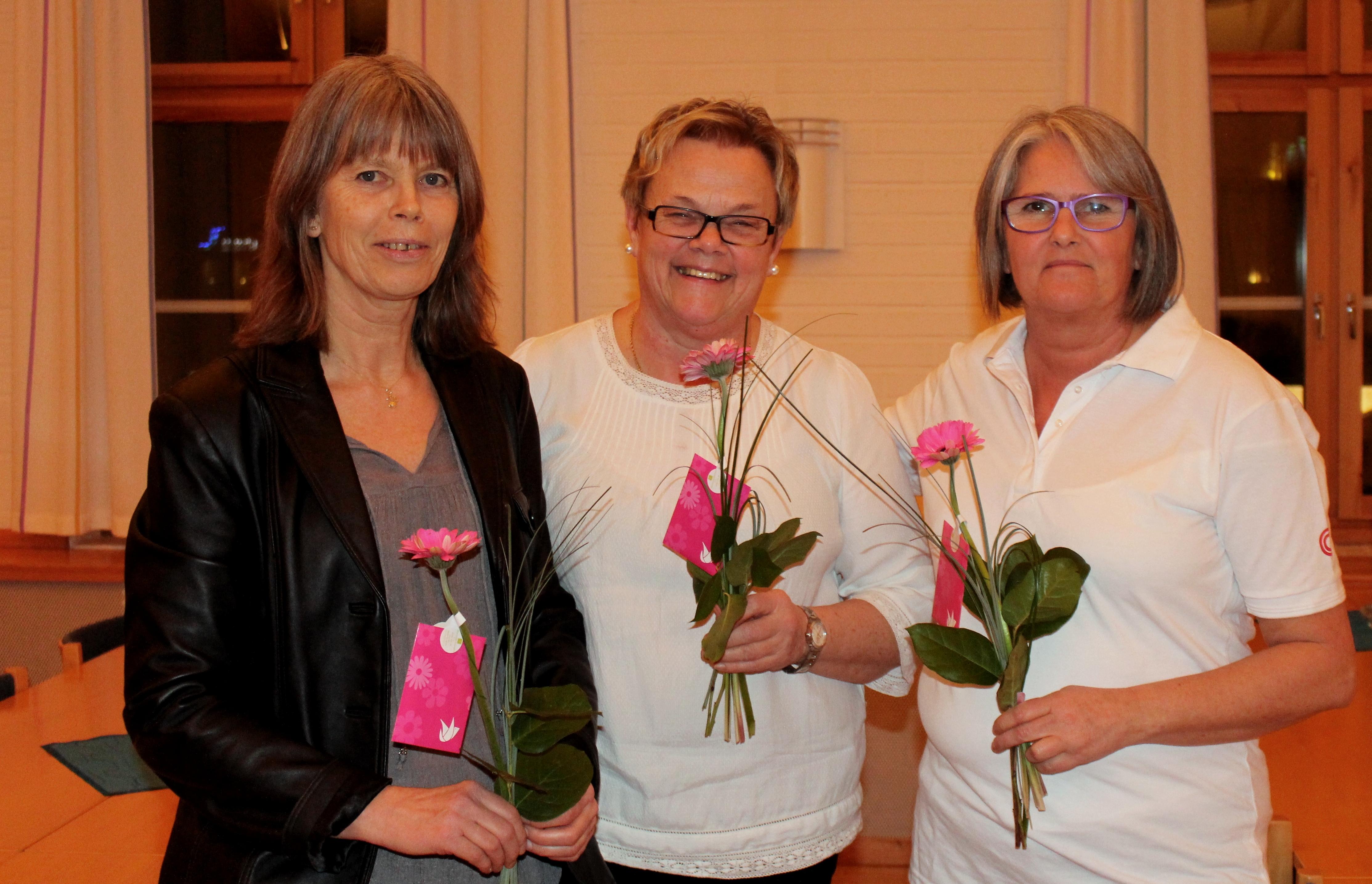Gunilla, Ann-Margret och Inger