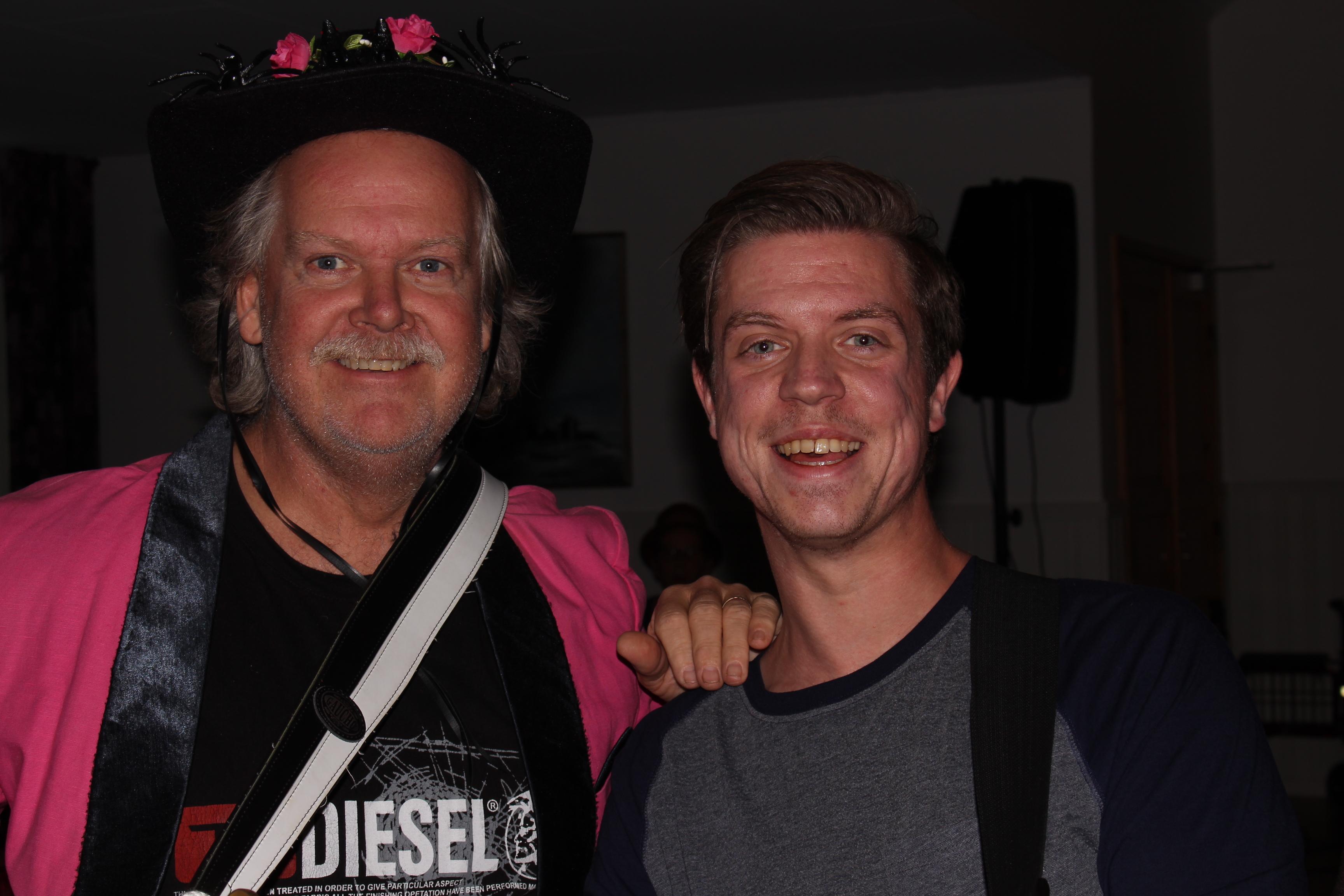 Christer Borg och Rasmus Larsson