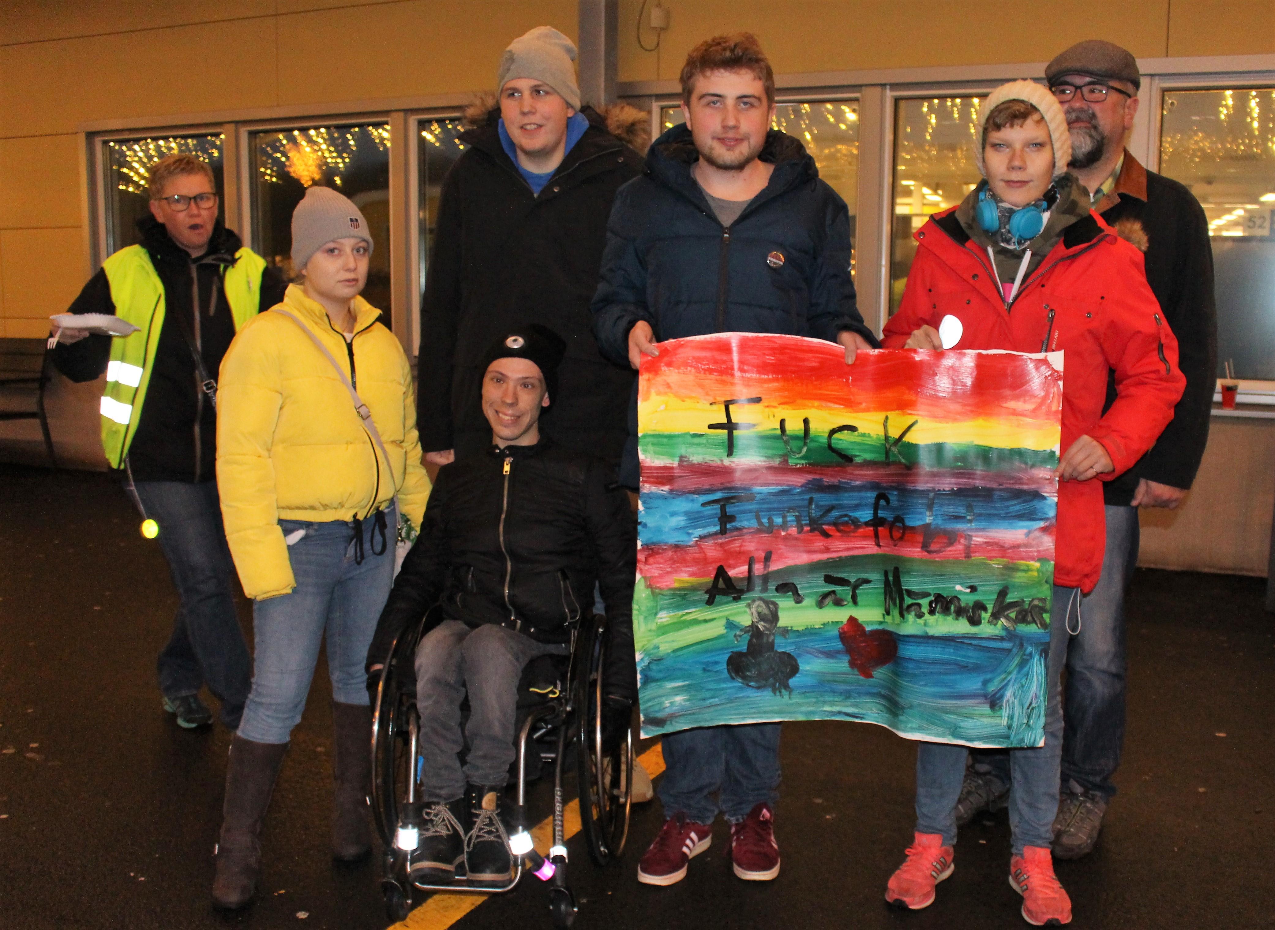 Elever från Katrinebergs folkhögskola