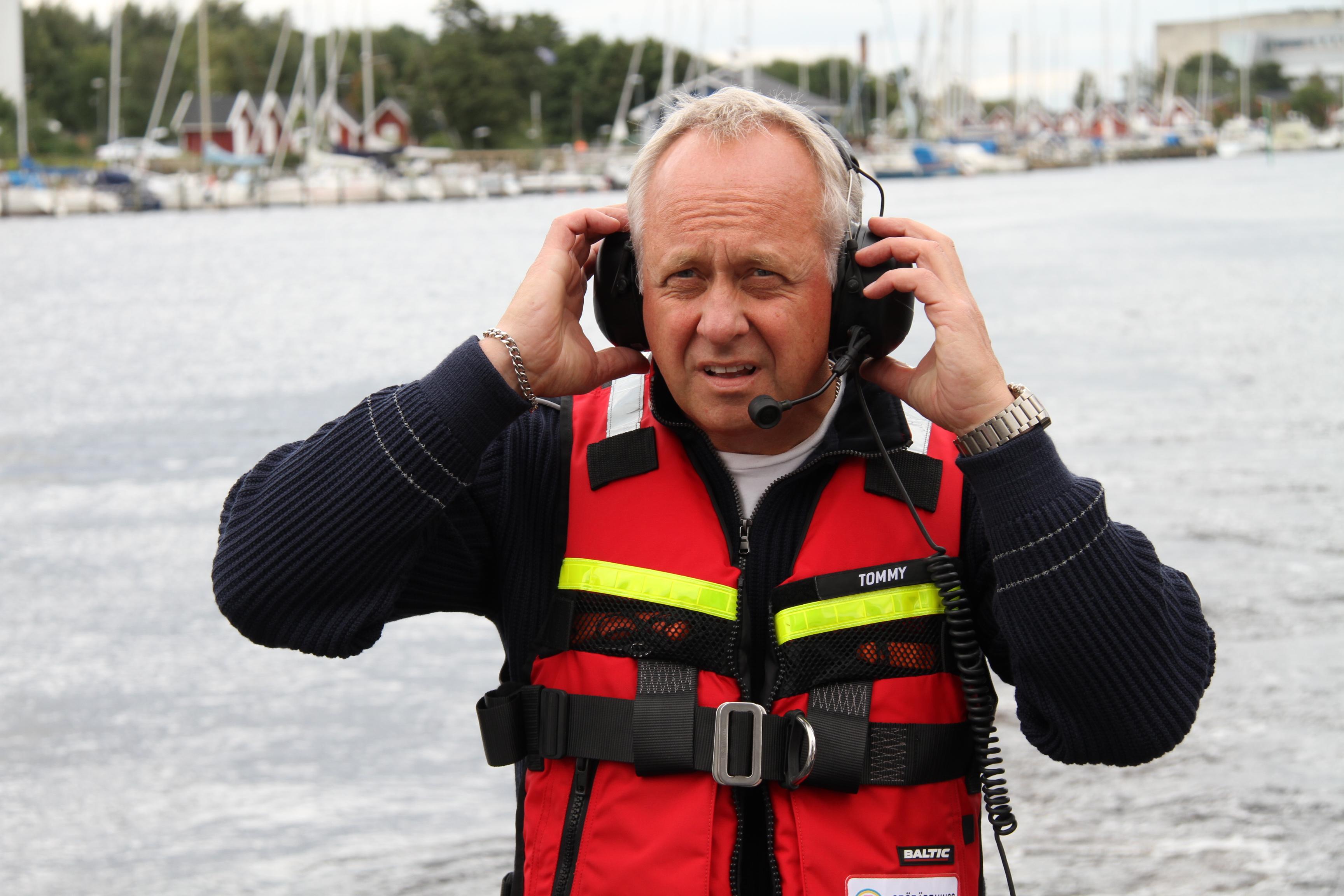 Personal på Sjöräddningen