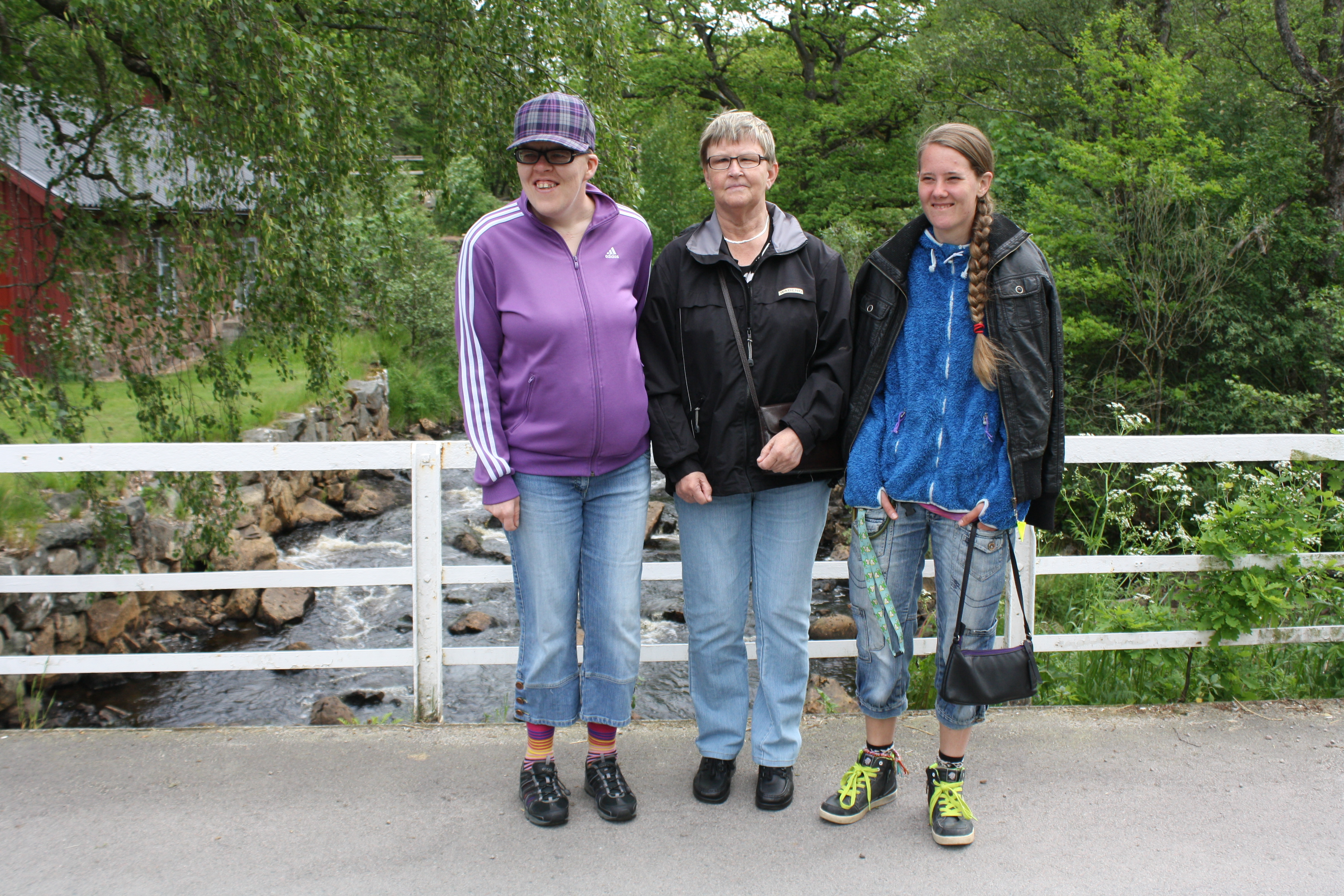 Jenny-Anne, Ann-Louise och Sara