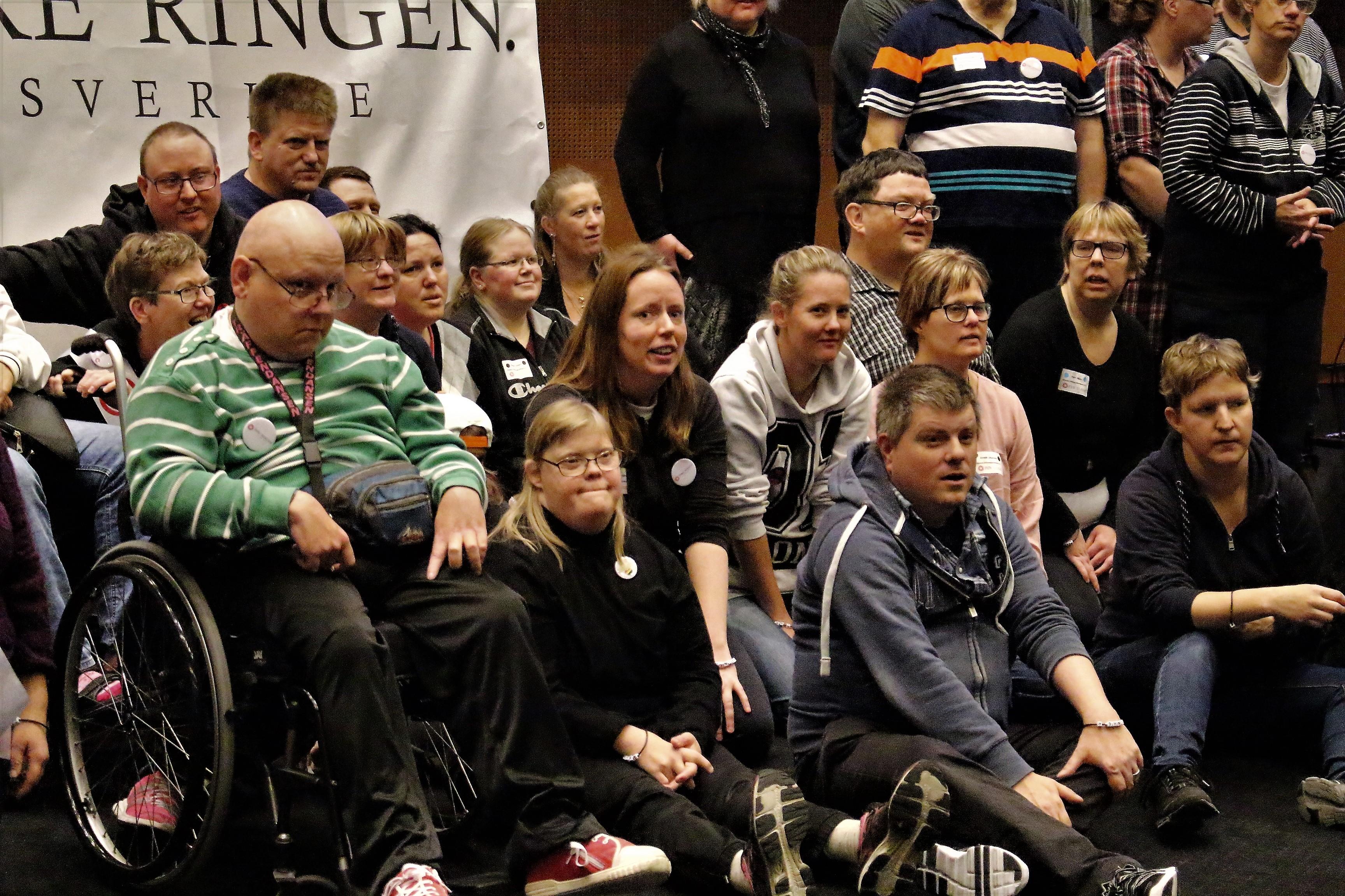 Falkenbergsgänget bland andra deltagare