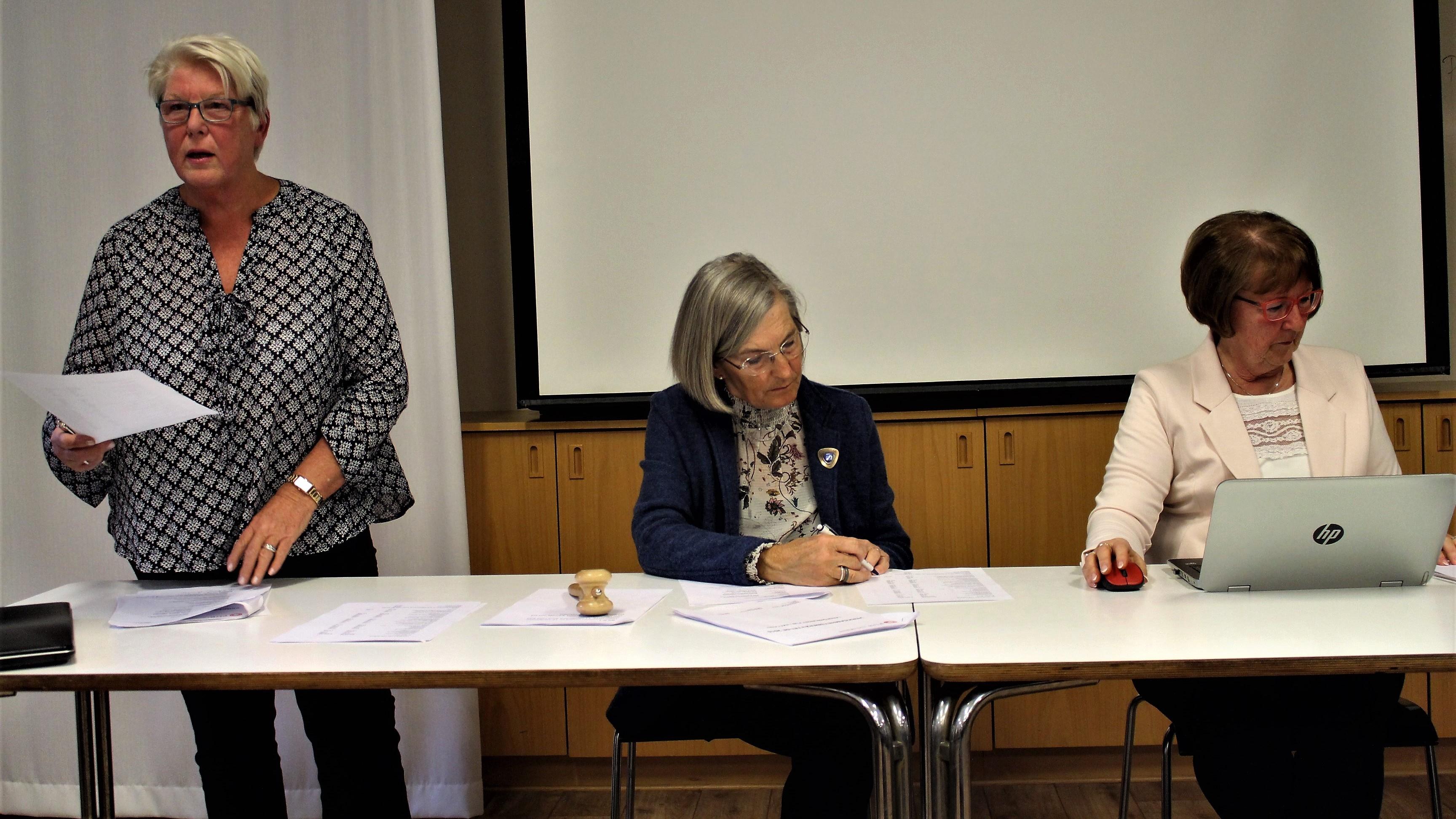 Kerstin Tegnér, Monica Rudqvist och Monica Carlsson