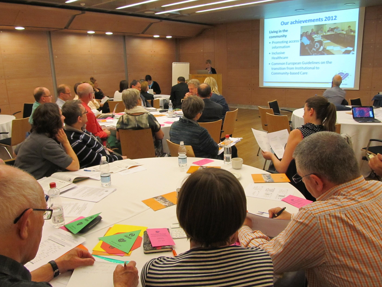 Deltagare på Inclusion Europe General Assembly i Ljubljana