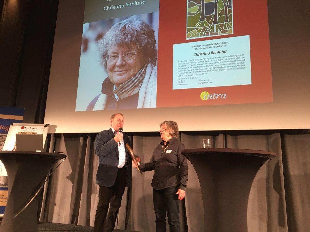 Intradagarna 2017 Hans Hallerfors Christina Renlund