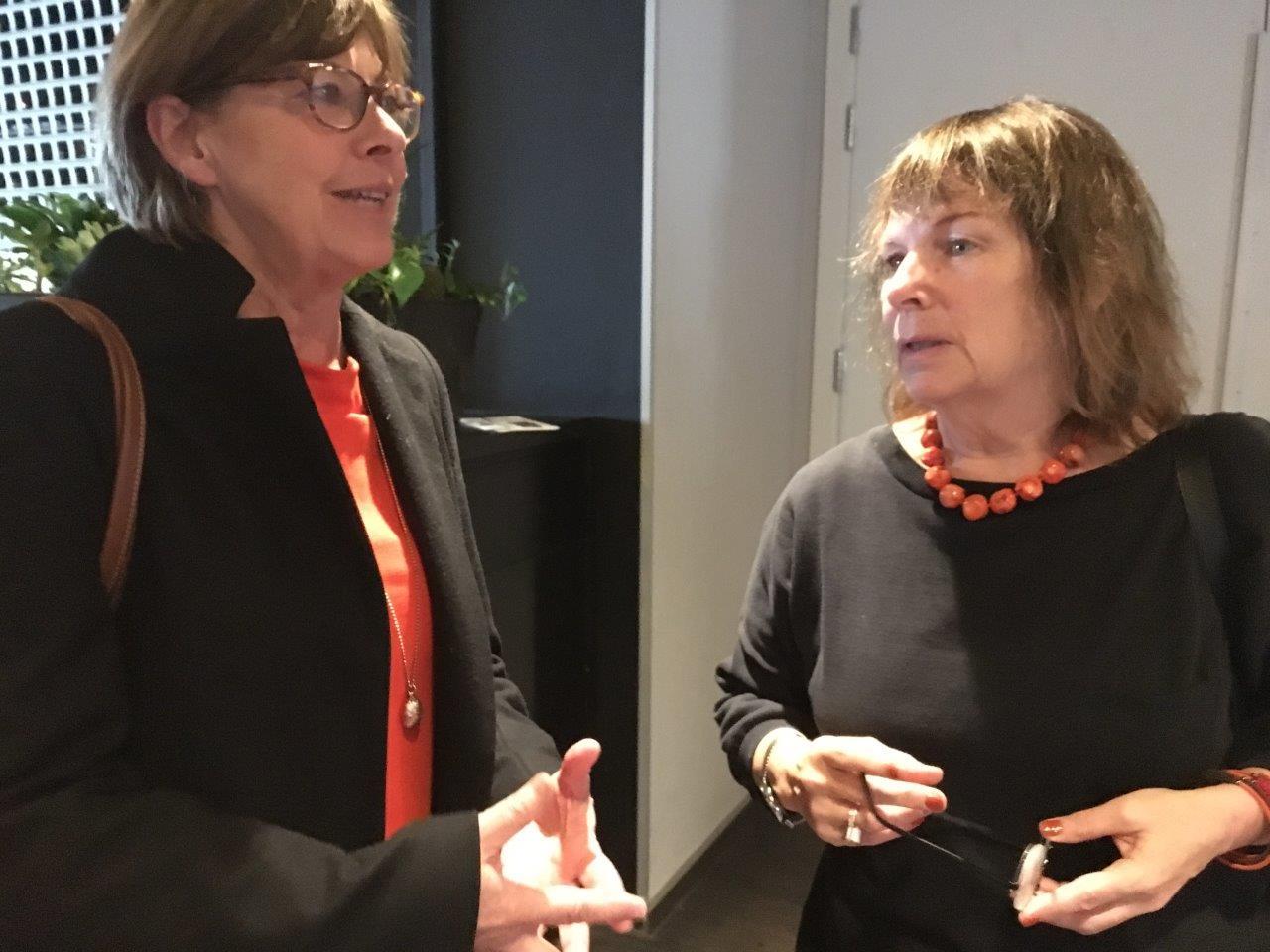Intradagarna 2017 Gunilla Malmborg Judith Timoney