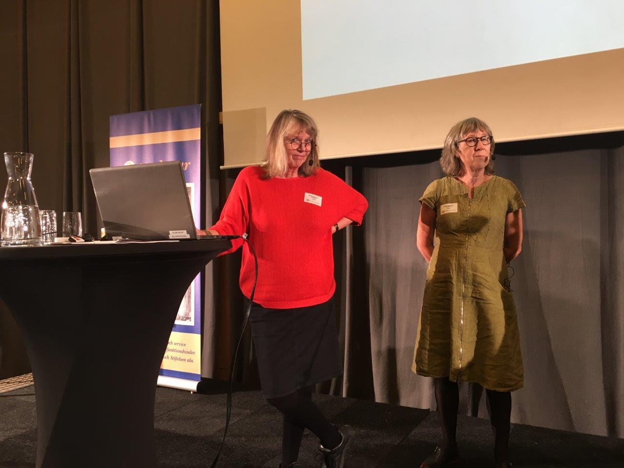 Intradagarna 2017 Gunnel Andersson Hjördis Gustafsson