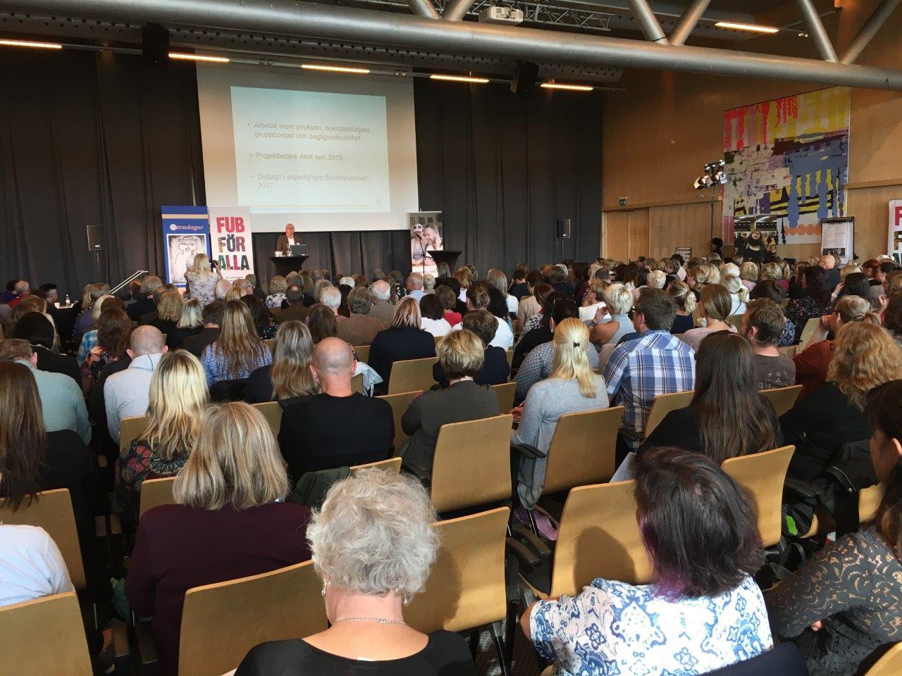 Intradagarna 2017 Peter Hedström Durhan och publik