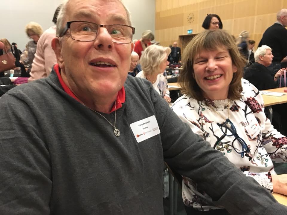 Intradagarna 2018 Conny Bergqvist och Judith Timoney