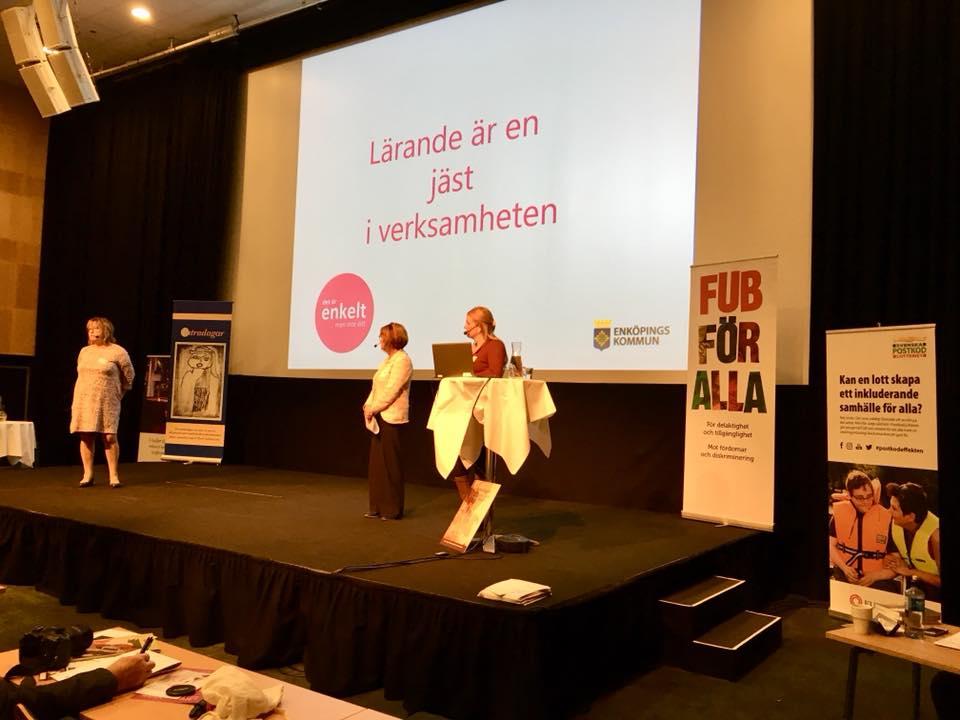 Intradagarna 2018 föreläsning om Enköpingsmodellen
