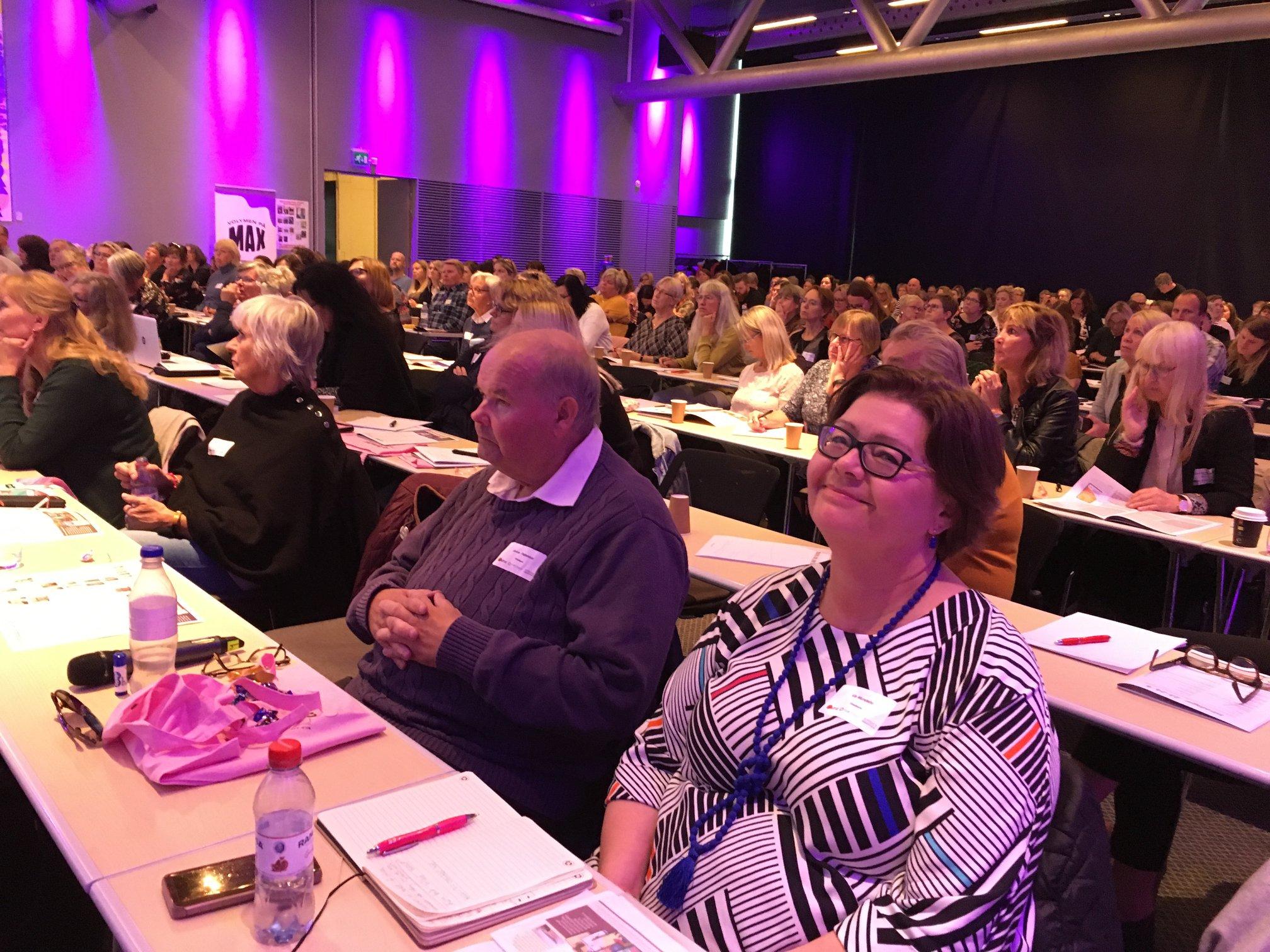 Intradagarna 2019: Janne Pettersson och Kia Mundebo