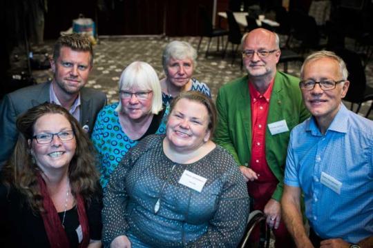 Juryn för Bästa LSS-kommun Foto: Linnea Bengtsson