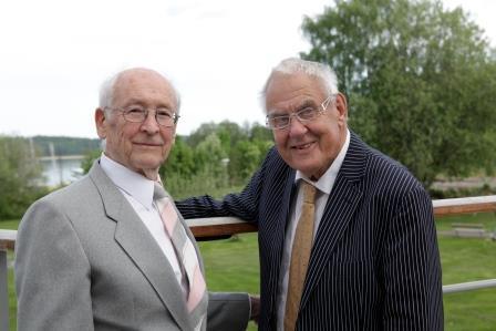 Karl Grunewald och Lars Bolander
