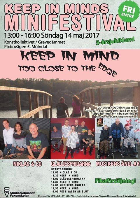 Affisch för Minifestivalen